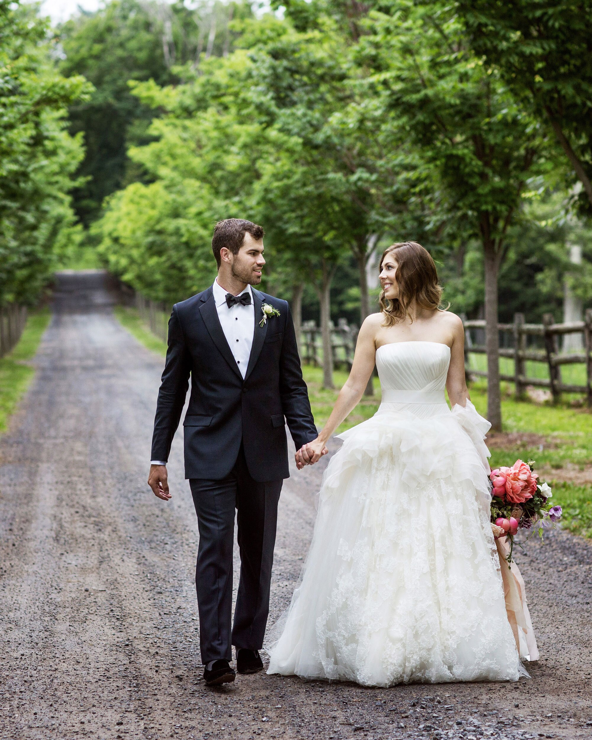 A Whimsical Wedding at an Upstate New York Mansion | Martha