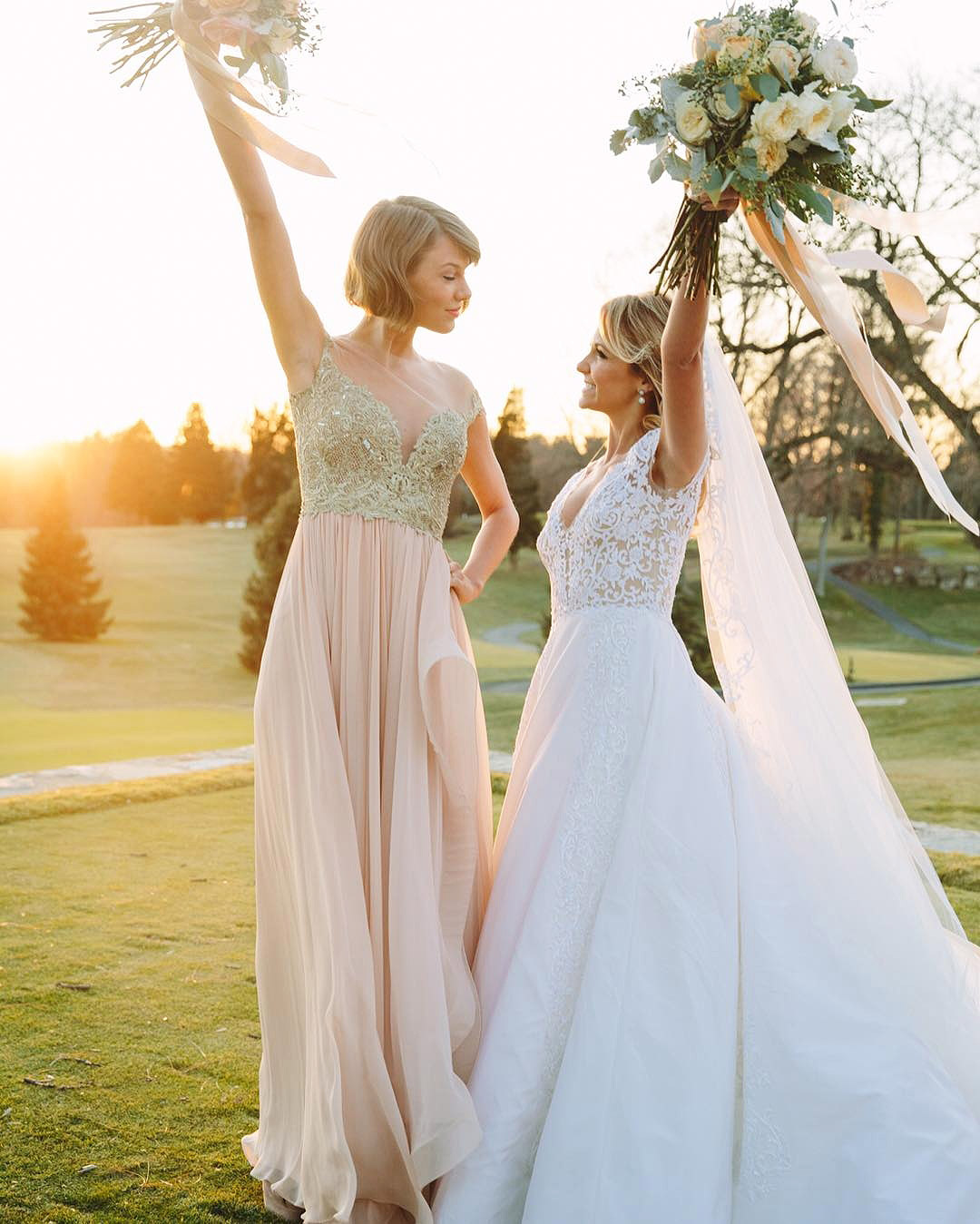 Our Favorite Celebrity Bridesmaids See What They Wore To Their