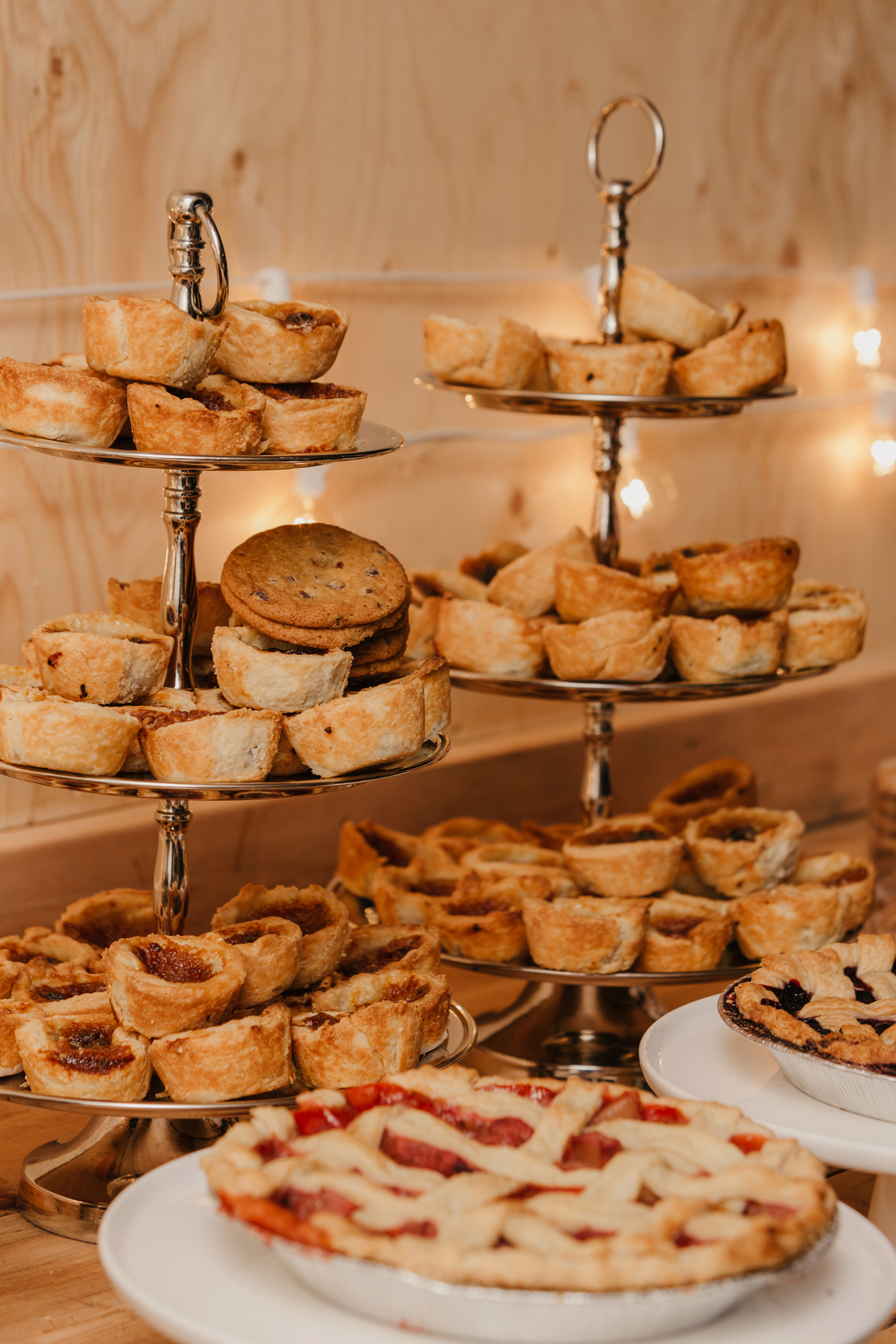 wedding pies katie taylor