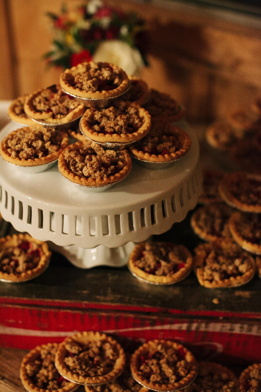 wedding pies cassidy carson