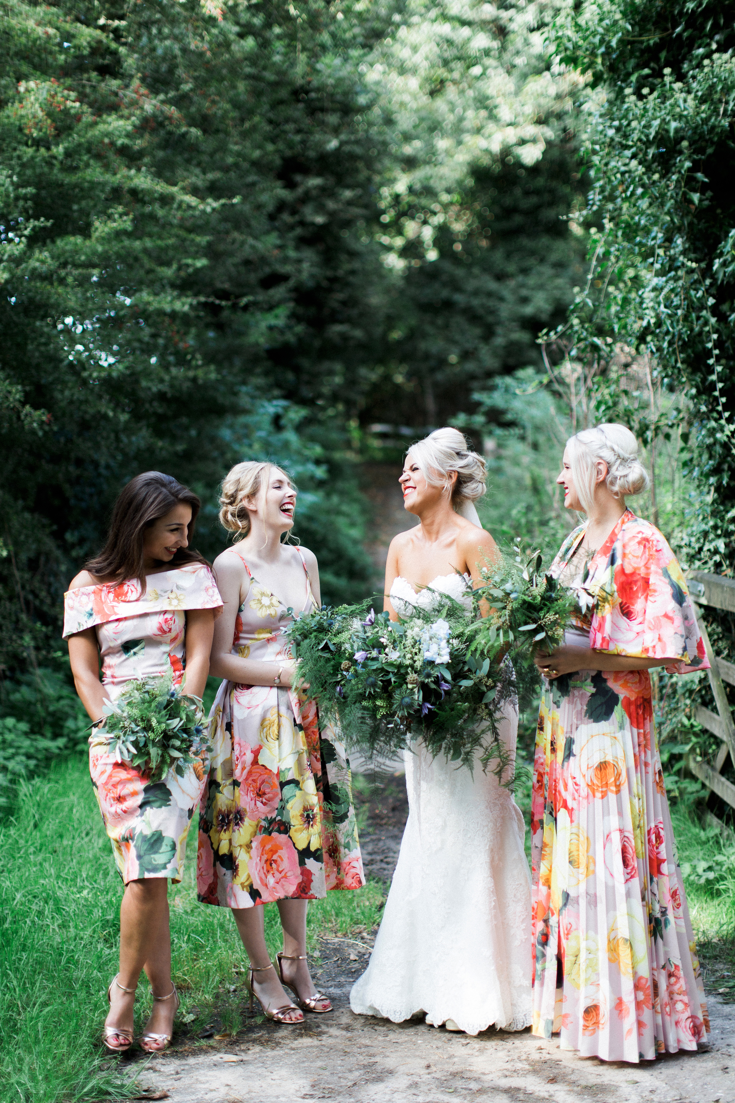 mismatched bridesmaids dresses melissa beattie