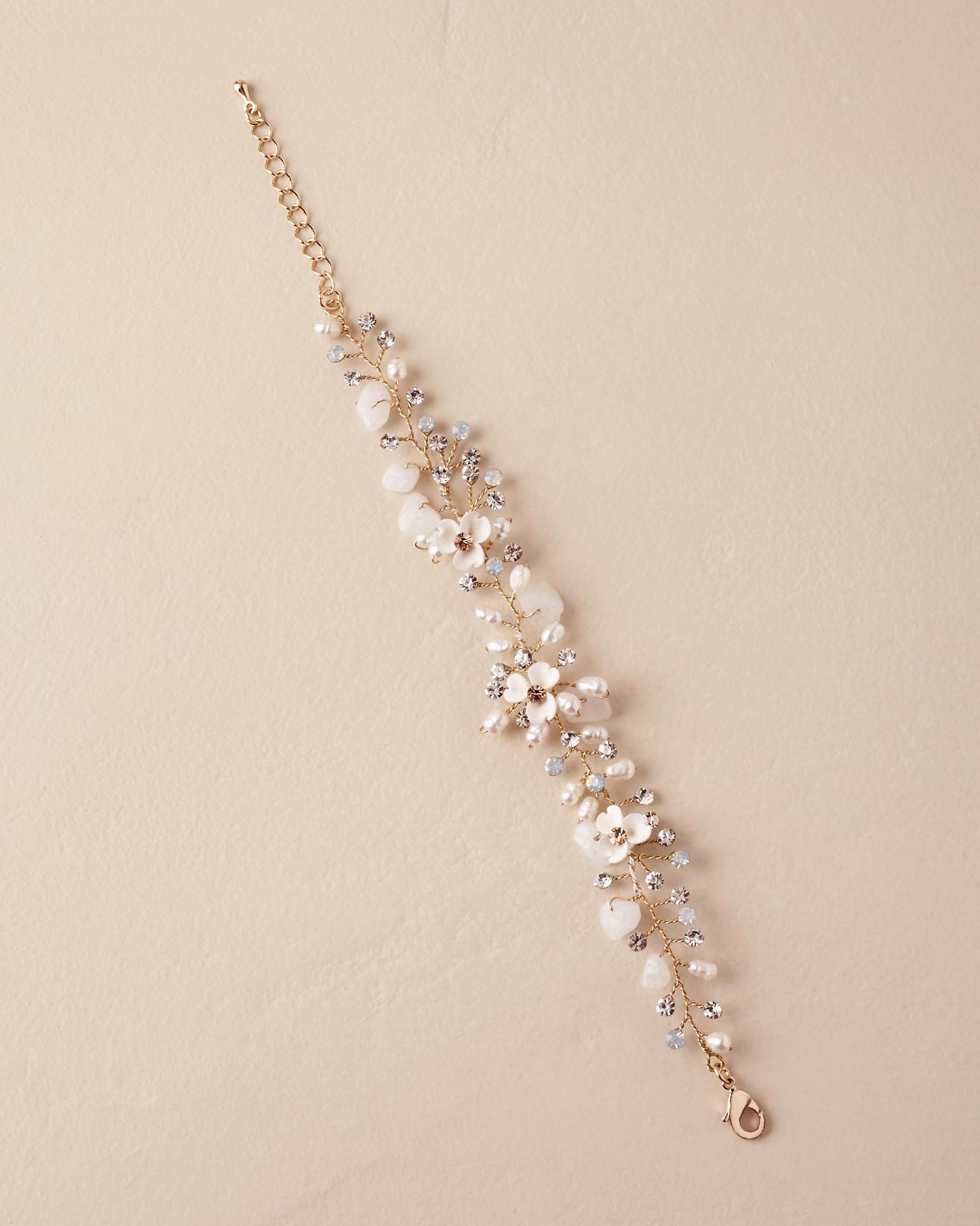 """Morning Dew"" Pearl Bracelet"