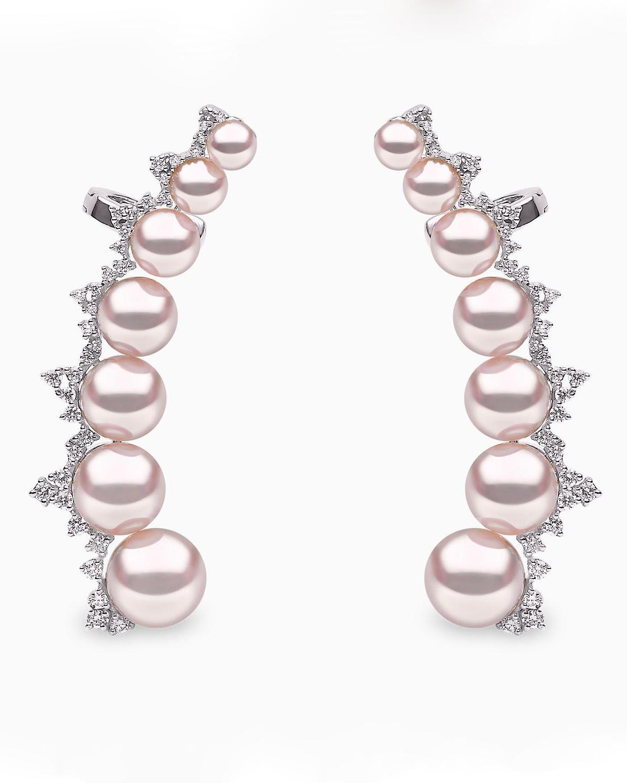 """Yoko London """"Novus"""" Akoya Pearl Earrings"""