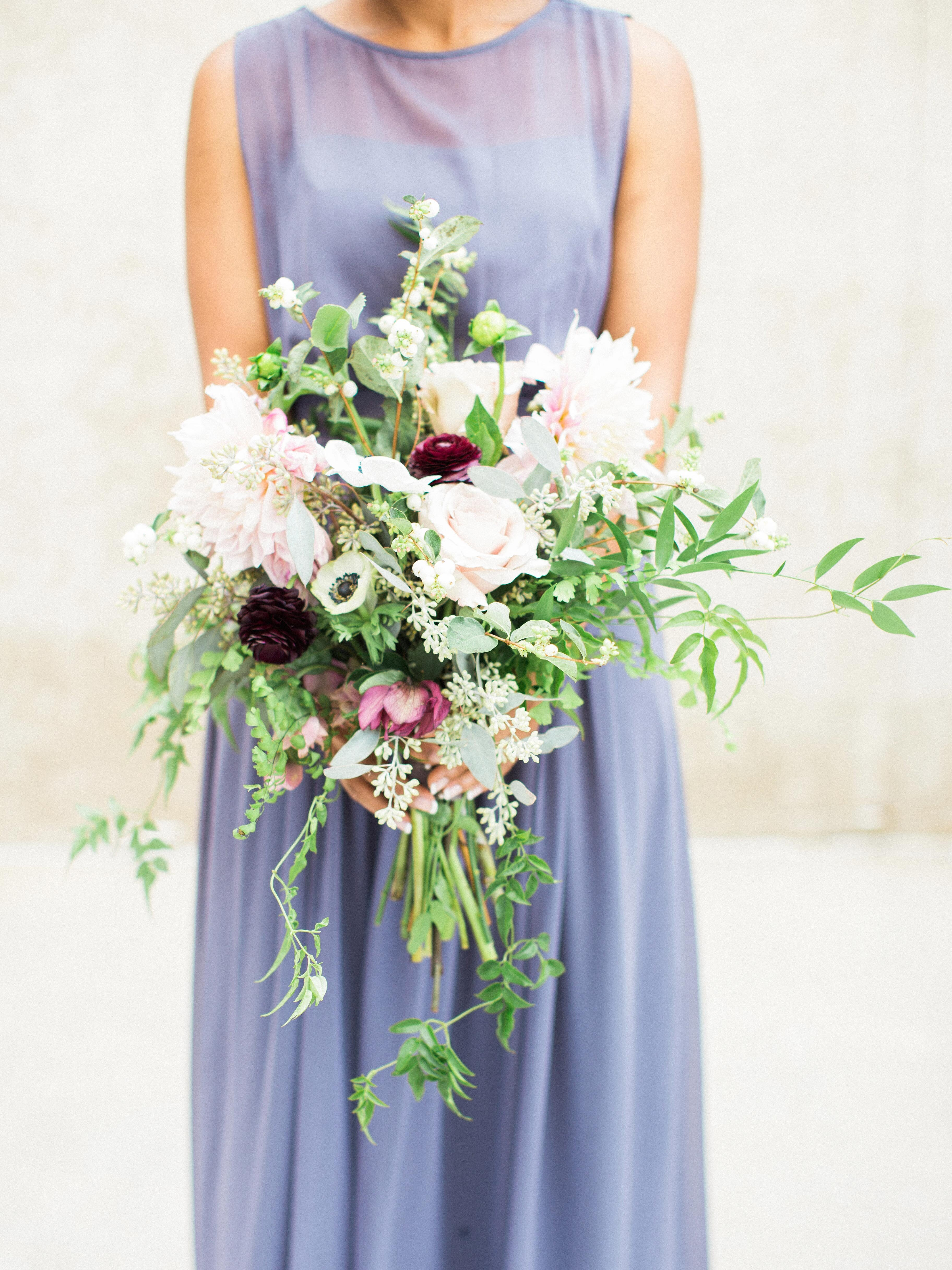 How To Make A Bridal Cascading Bouquet With Fake Flowers Ehow
