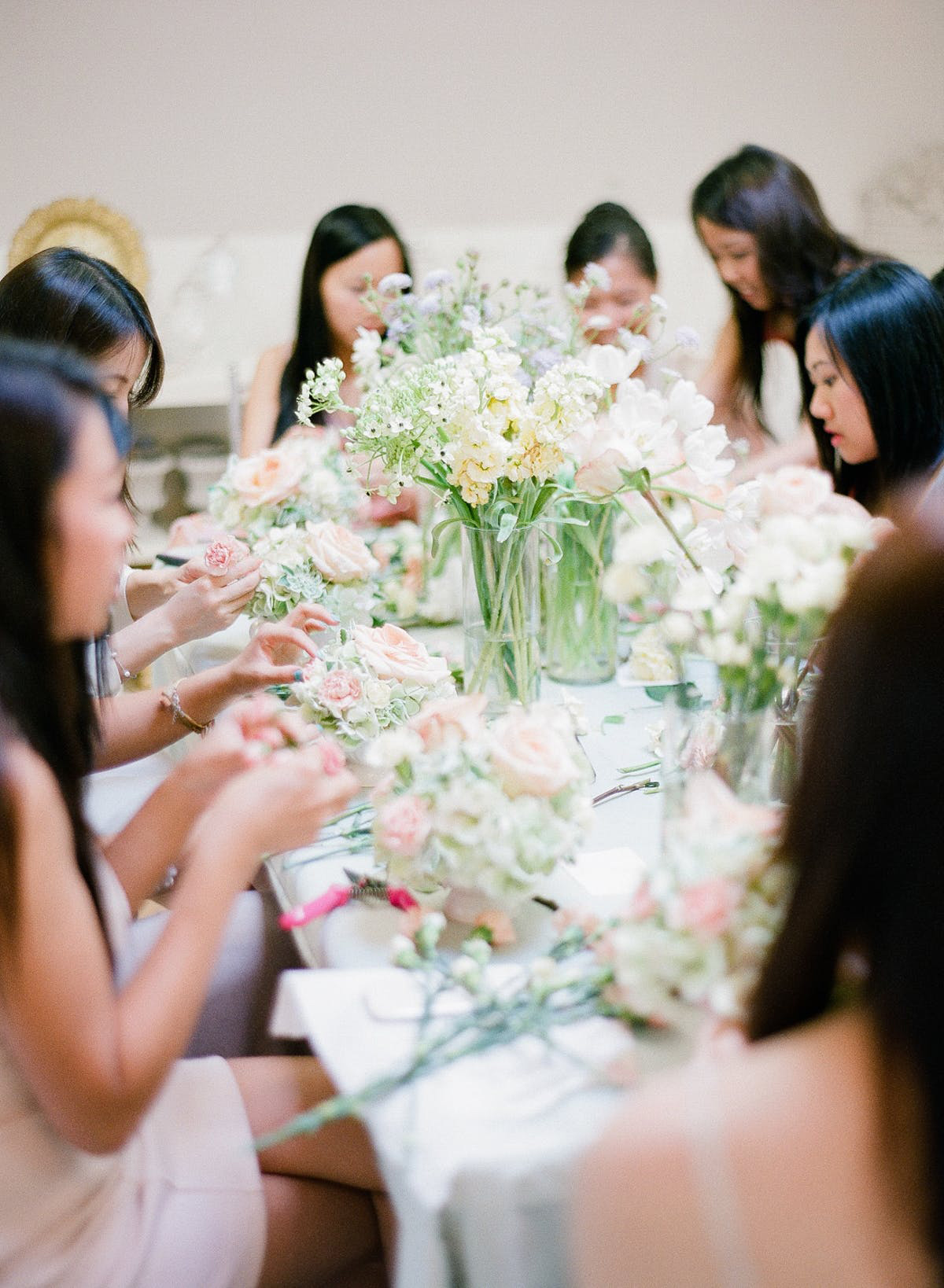 Flower Arranging Bachelorette Party