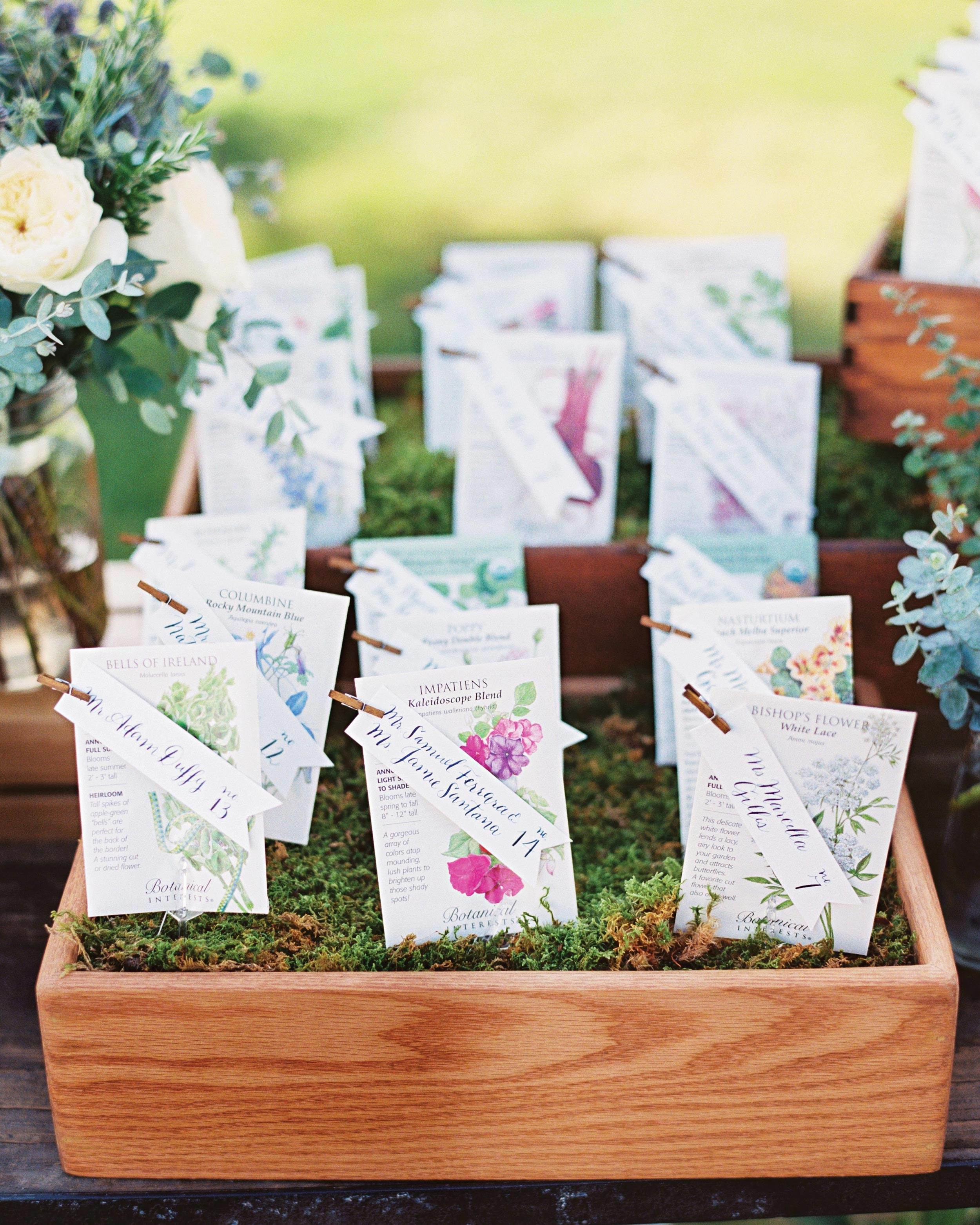 Flower And Plant Wedding Favor Ideas Martha Stewart Weddings