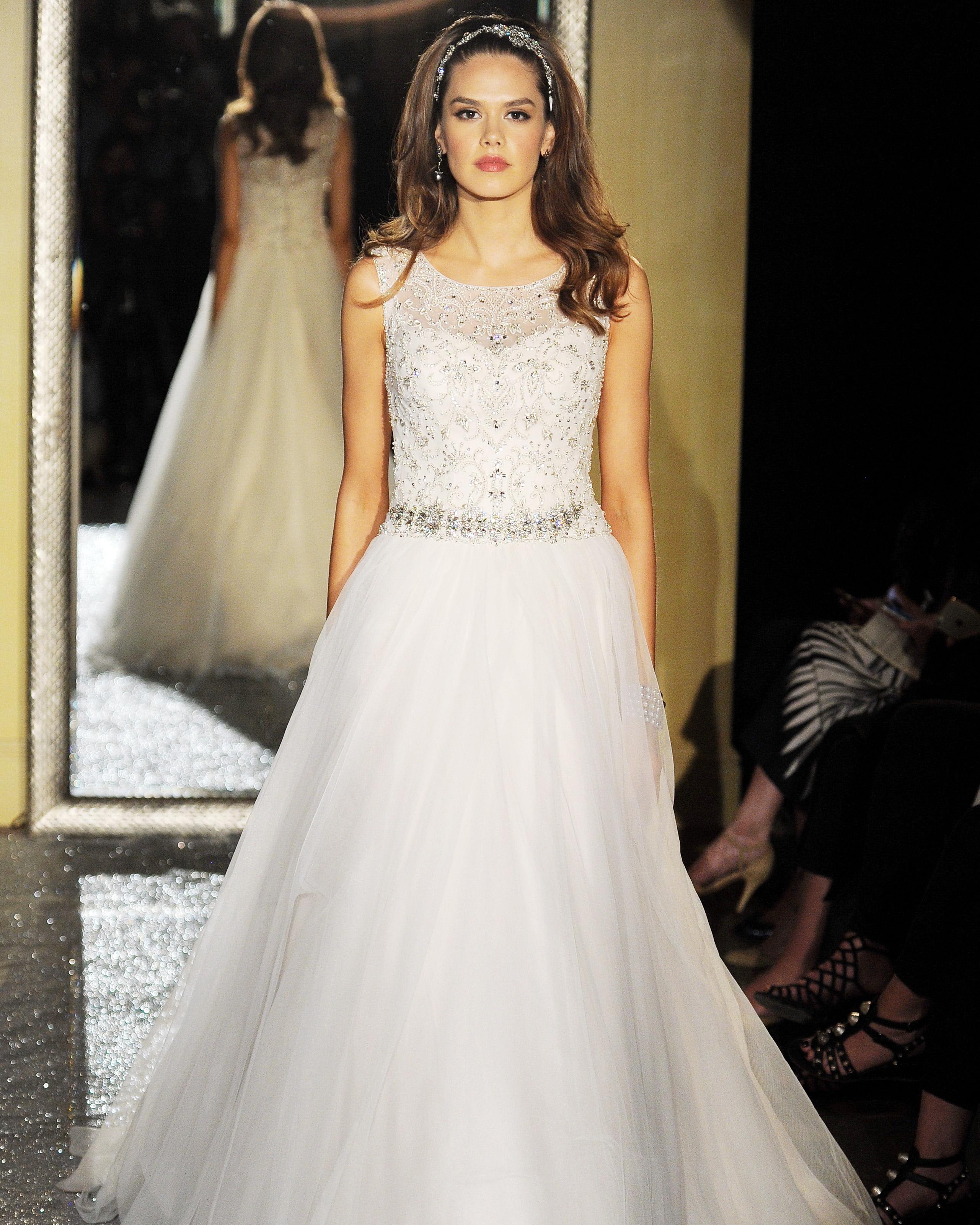 Oleg Cassini Spring 2017 Wedding Dress Collection Martha Stewart