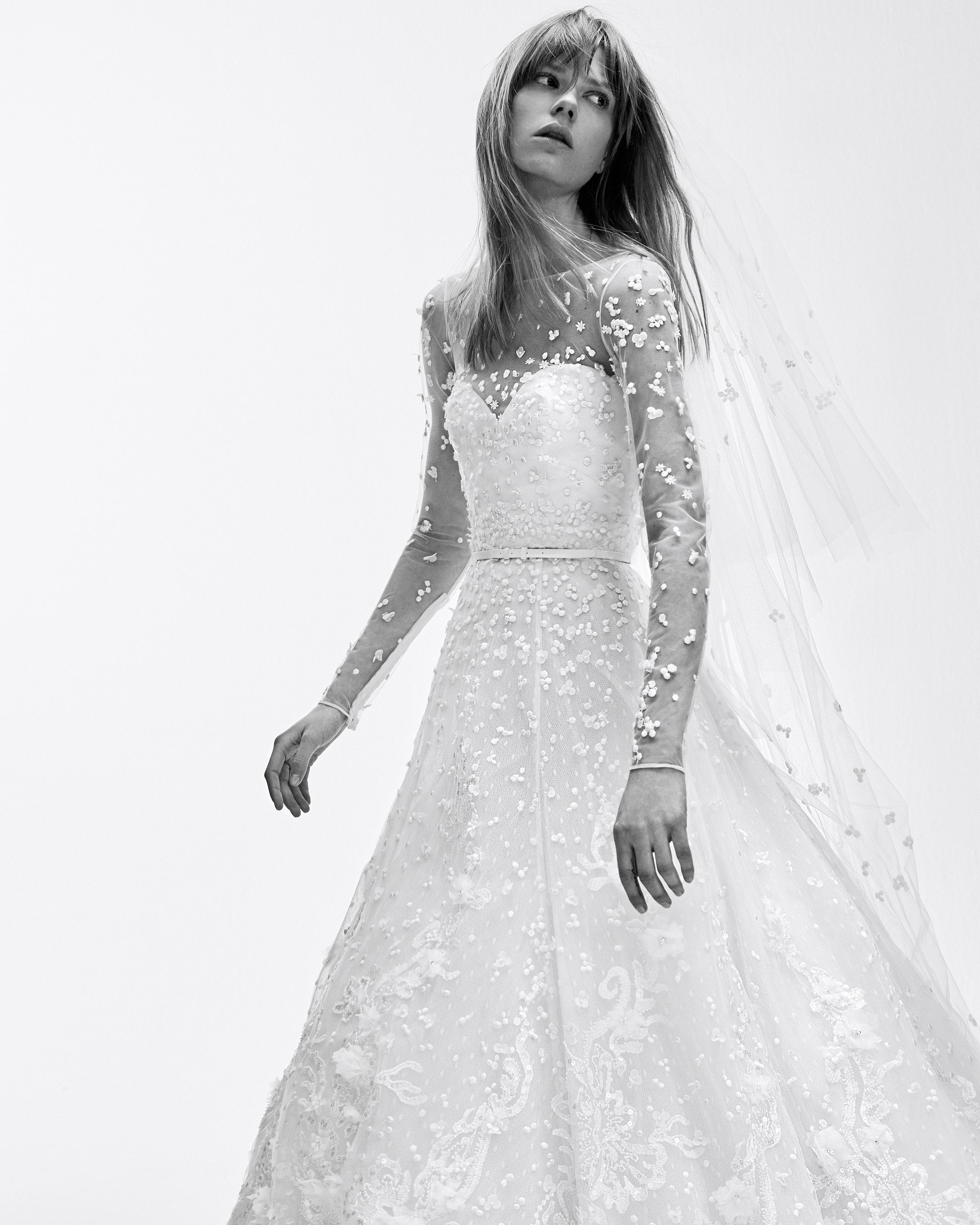 Elie Saab Spring 2017 Wedding Dress Collection Martha Stewart