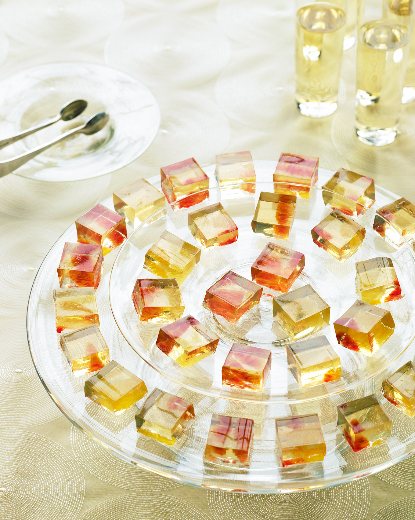 Dessert Wine Gelees with Citrus Fruit