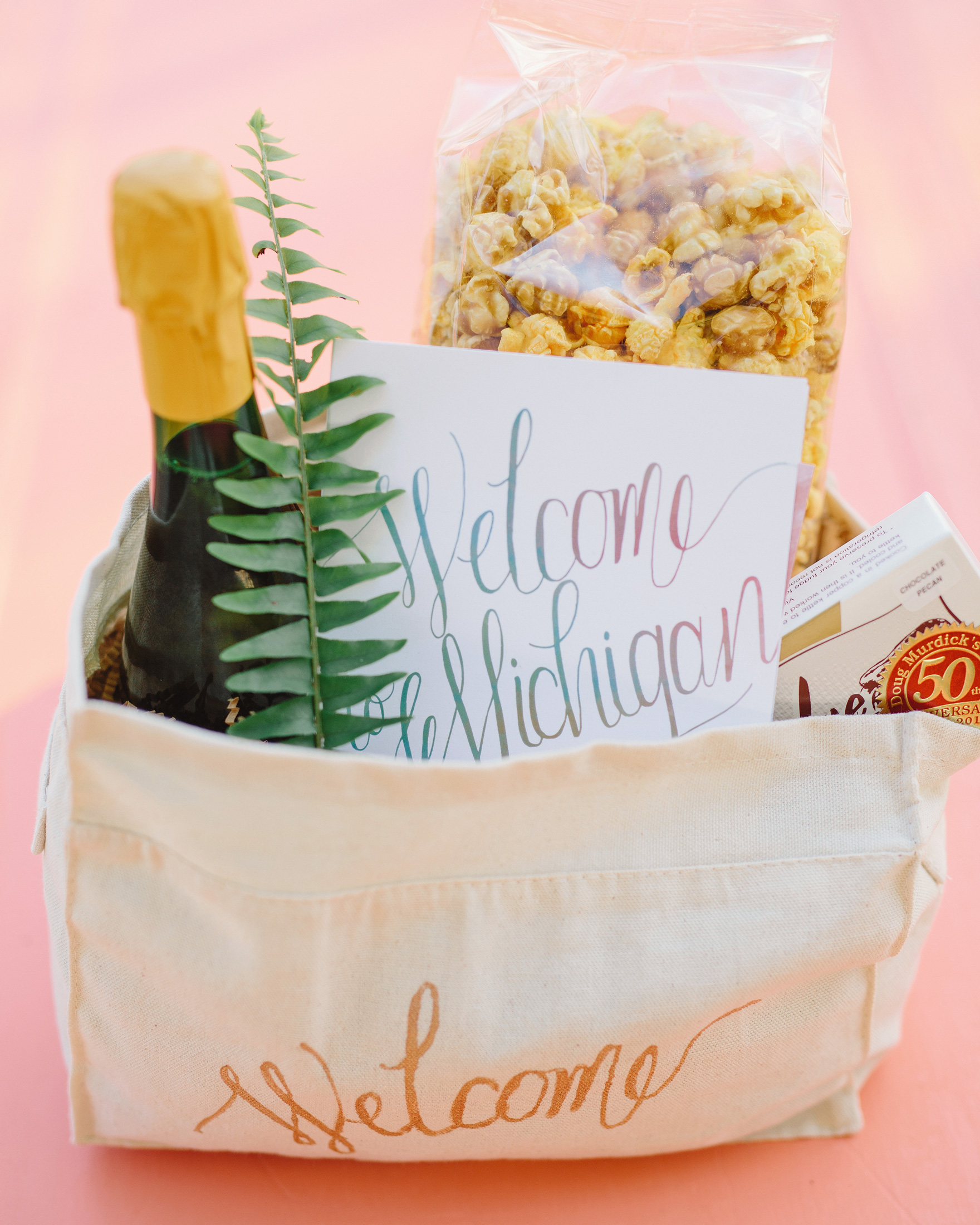 Set the Tone with Your Welcome Bag