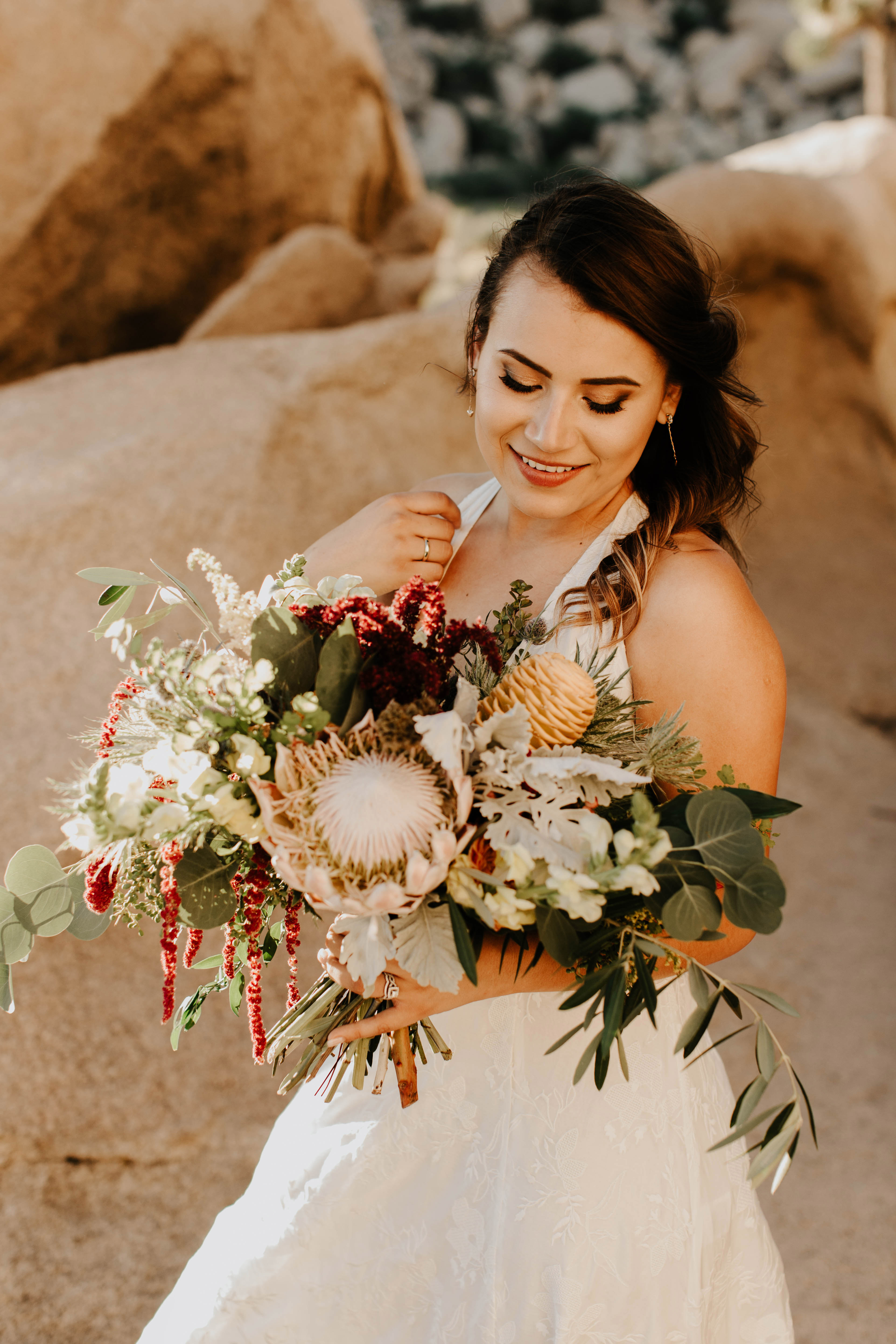 protea wedding bouquets alexandria monette