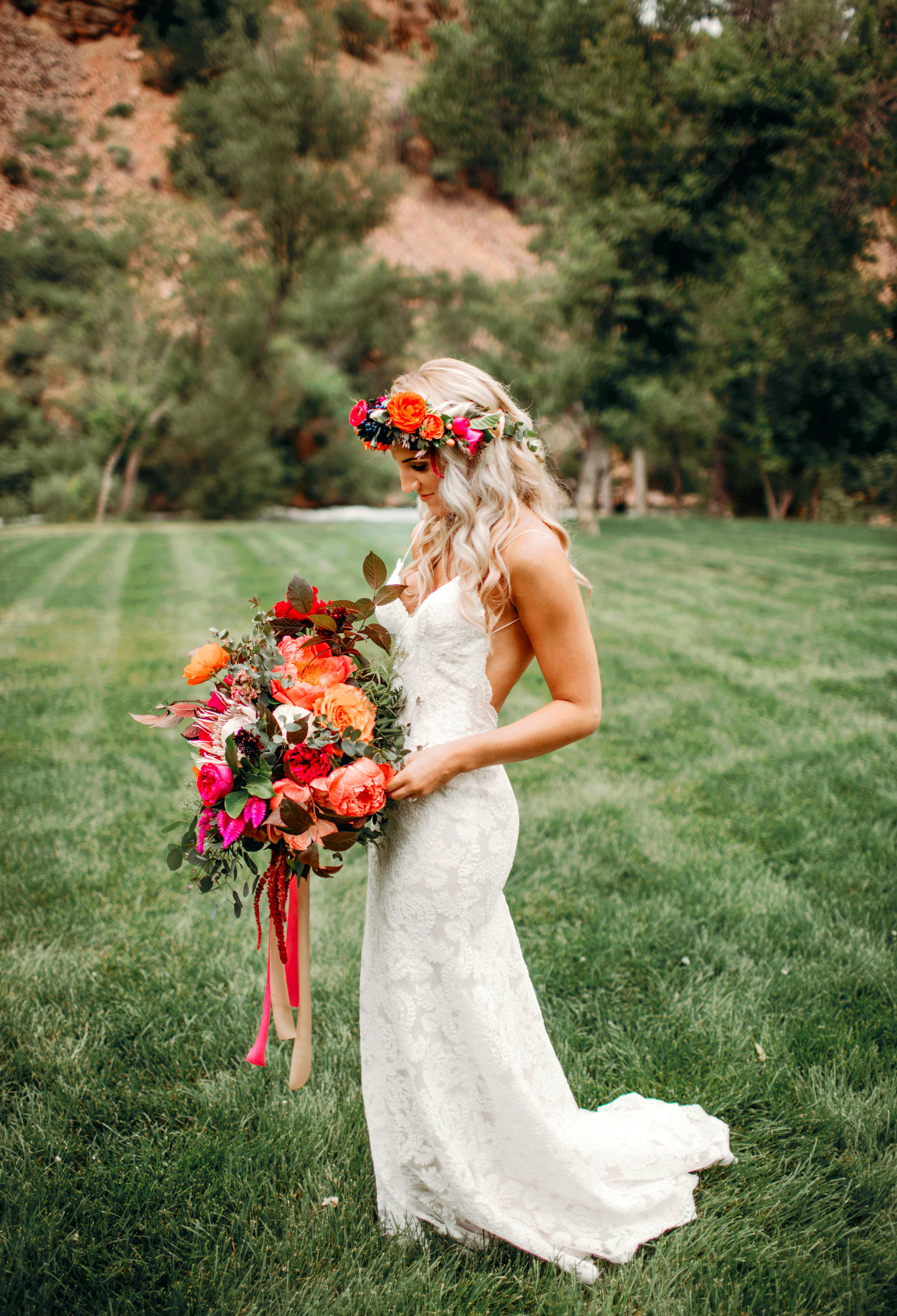 protea wedding bouquets shannon lee miller photography