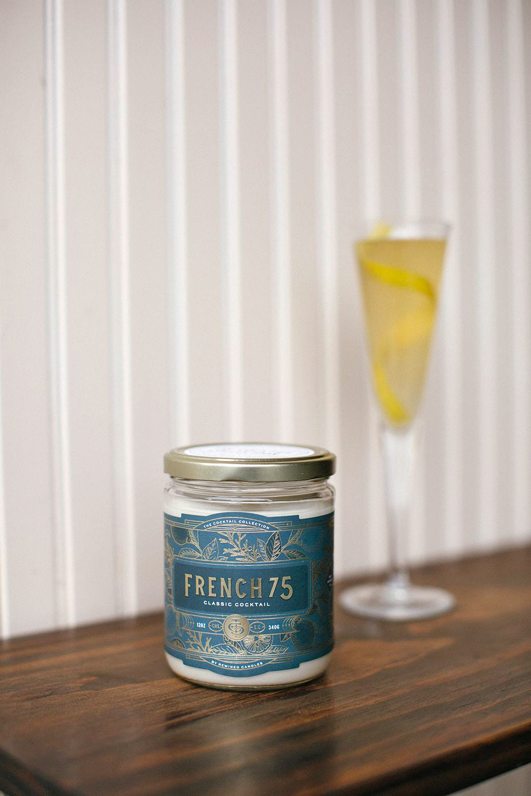candlefish french 75 cocktail