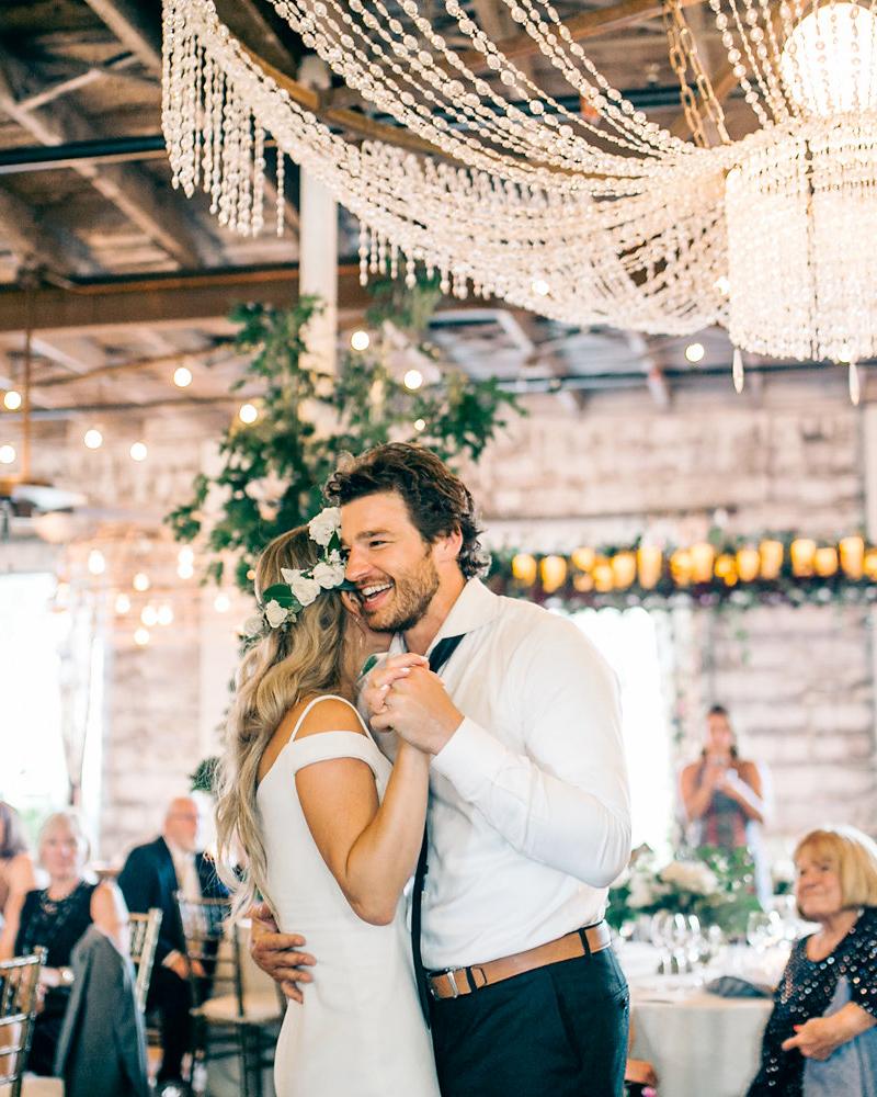 maggie zach wedding reception first dance