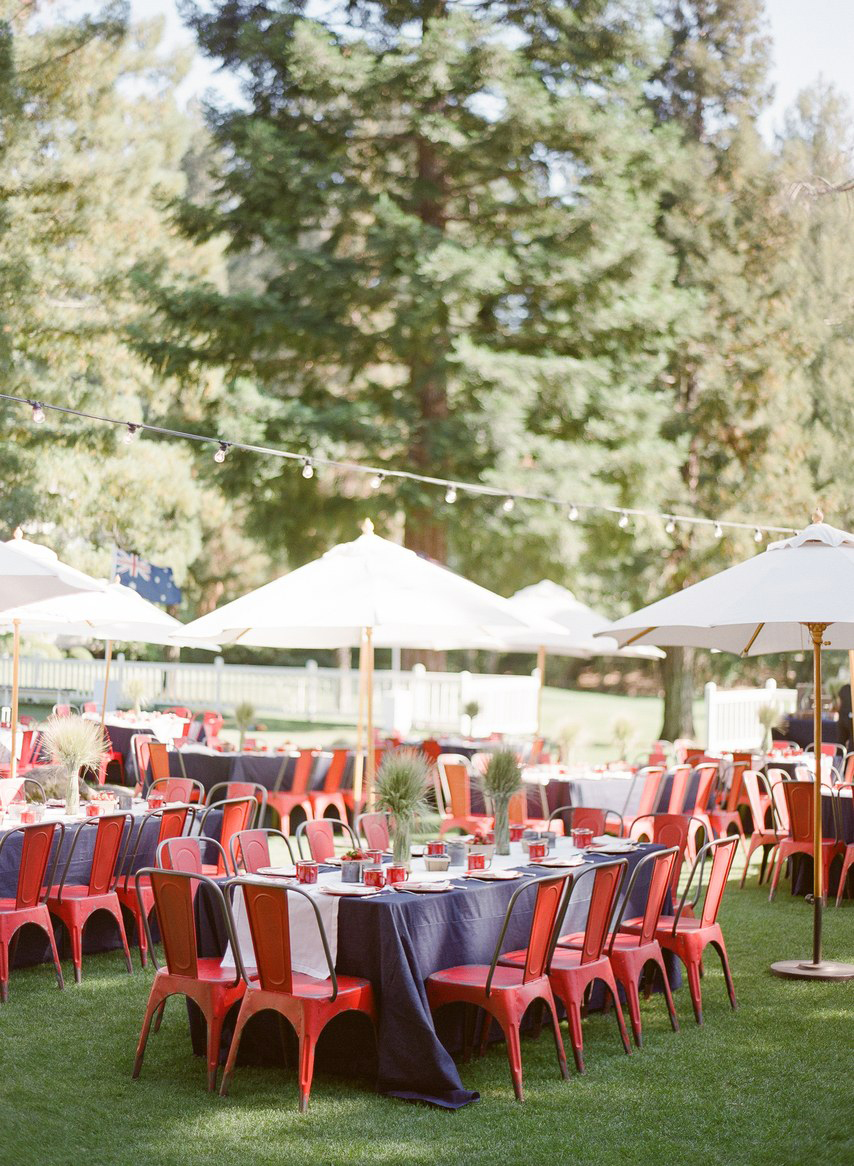 fourth of july wedding ideas kt merry