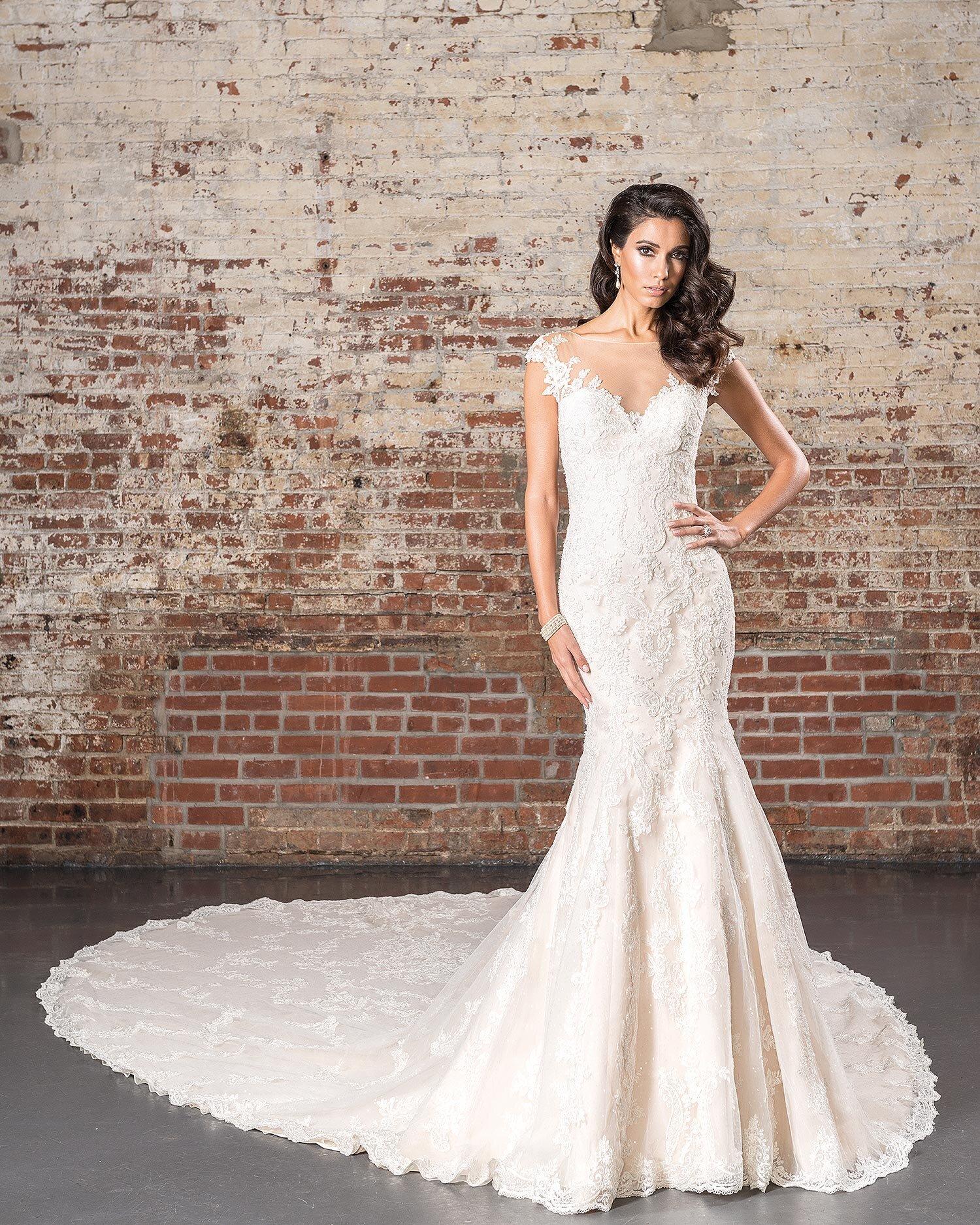 Justin Alexander Signature Spring 2017 Wedding Dress