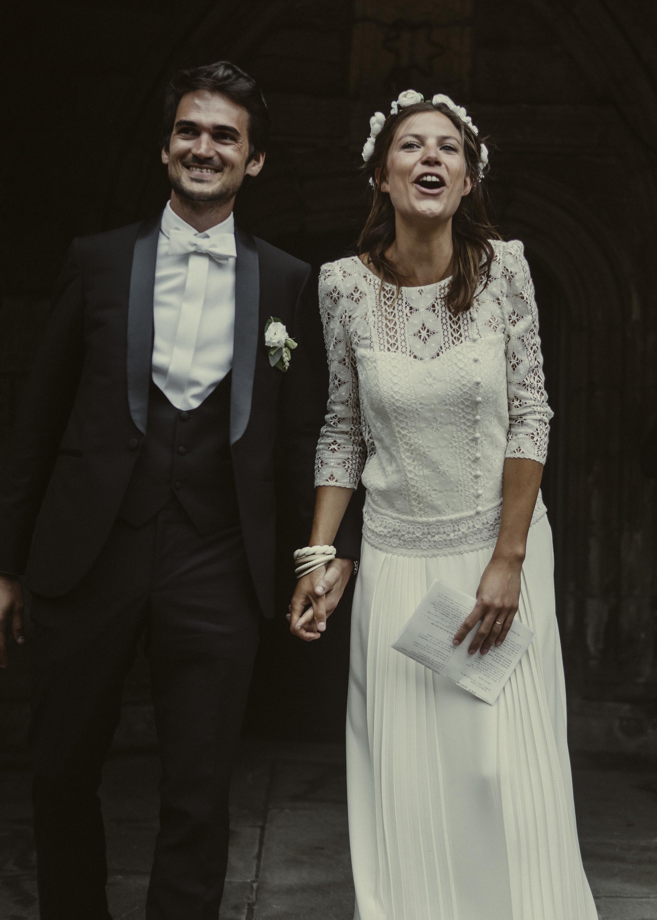 Laure Sagazan Wedding Photo