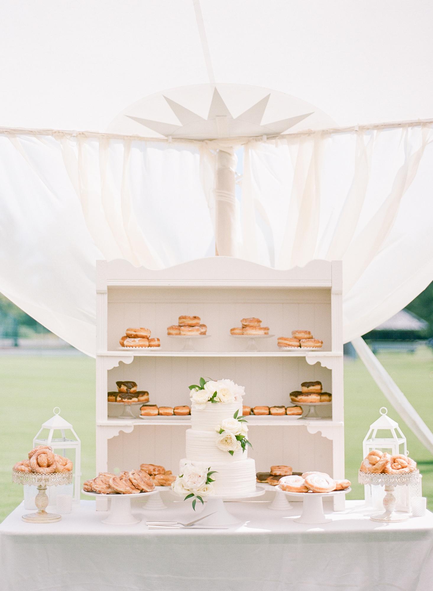 wedding donuts rebecca yale