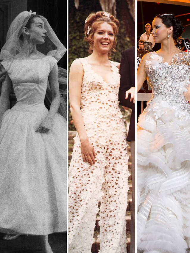 c2bf1f2eefc3d The Most Iconic Movie Wedding Dresses of All Time | Martha Stewart ...