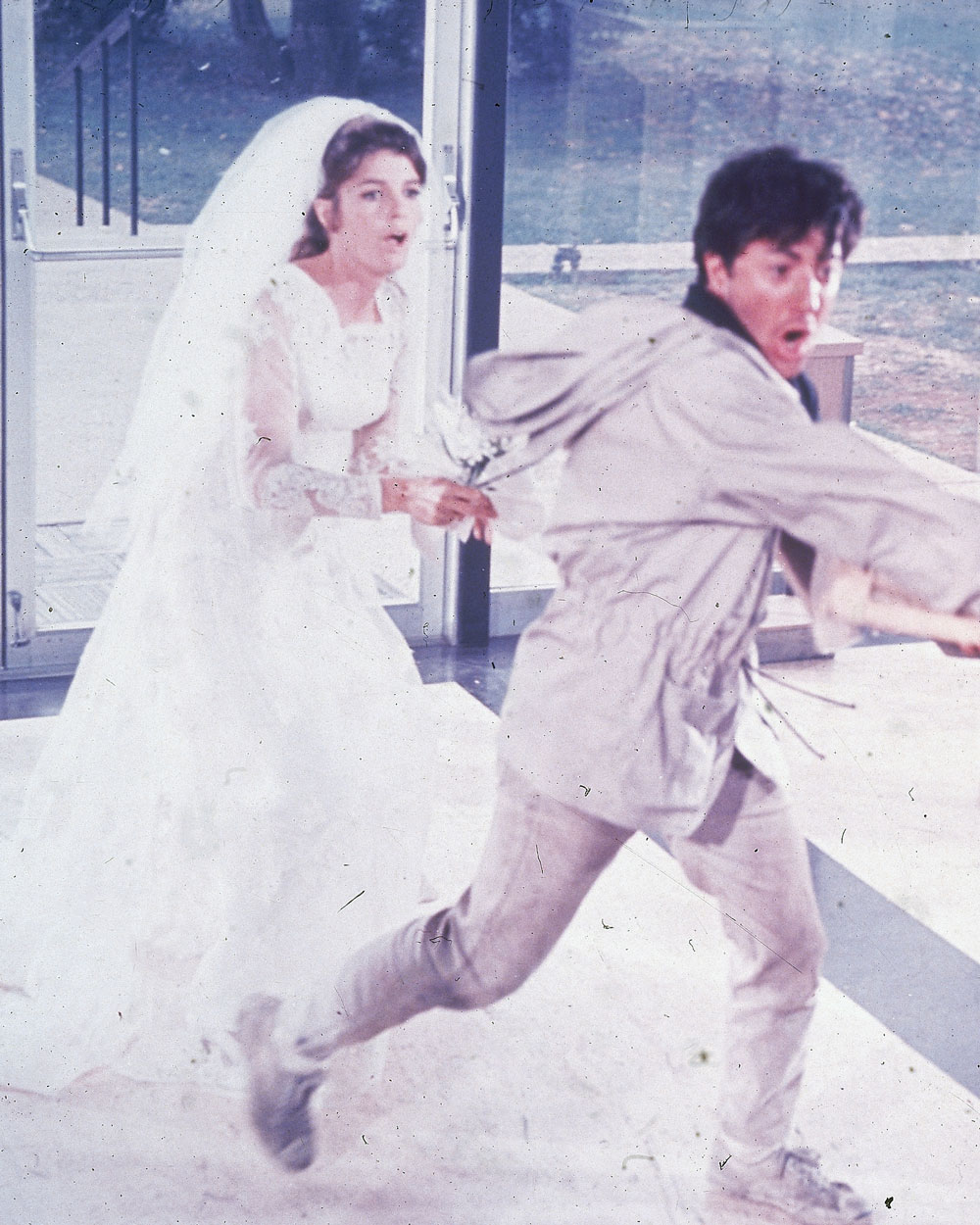 The Graduate Wedding Scene