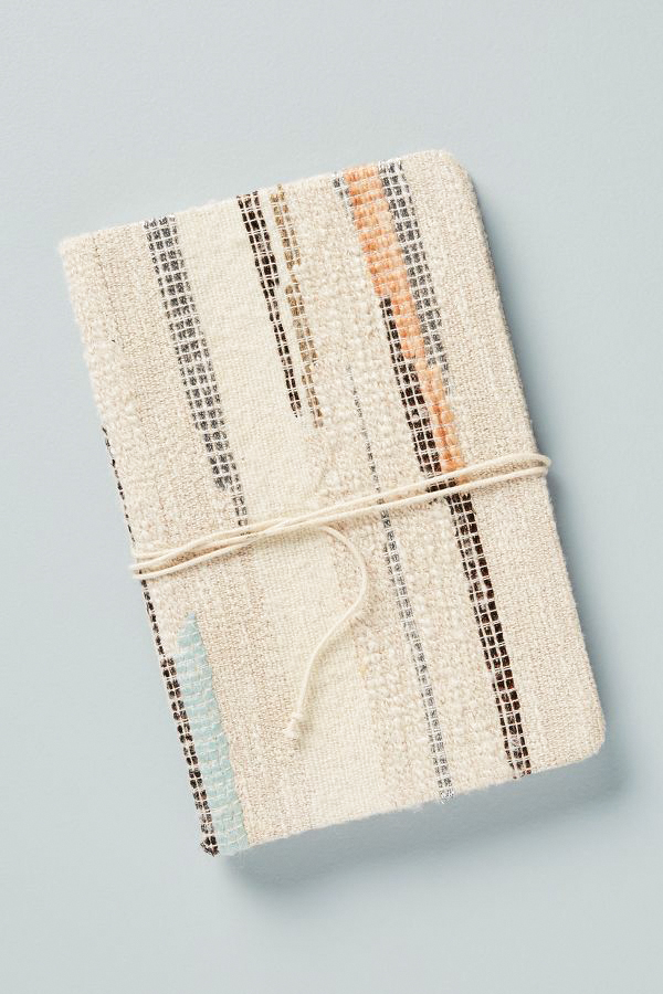 vow book textured notebook tied