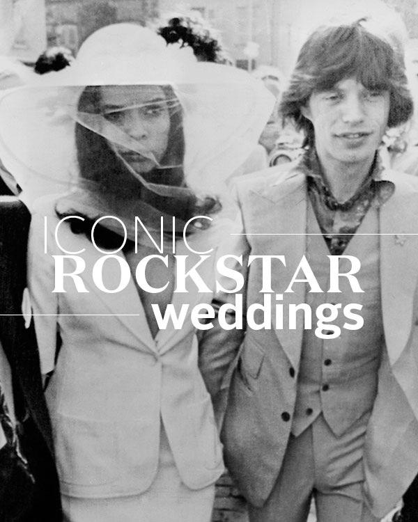 Iconic Rockstar Weddings