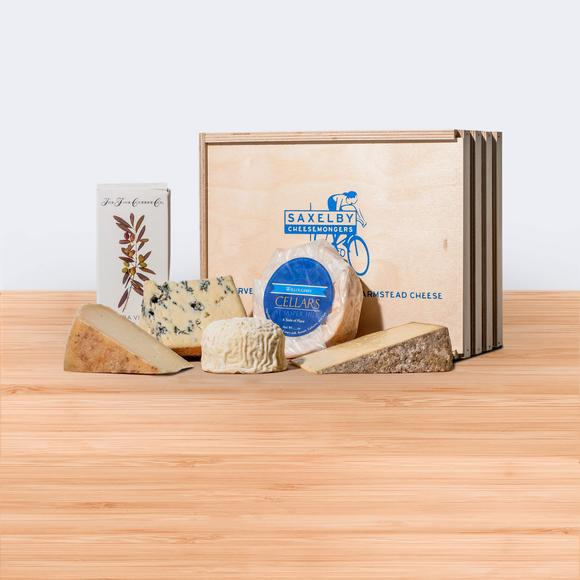 groom gift guide saxelby cheese box