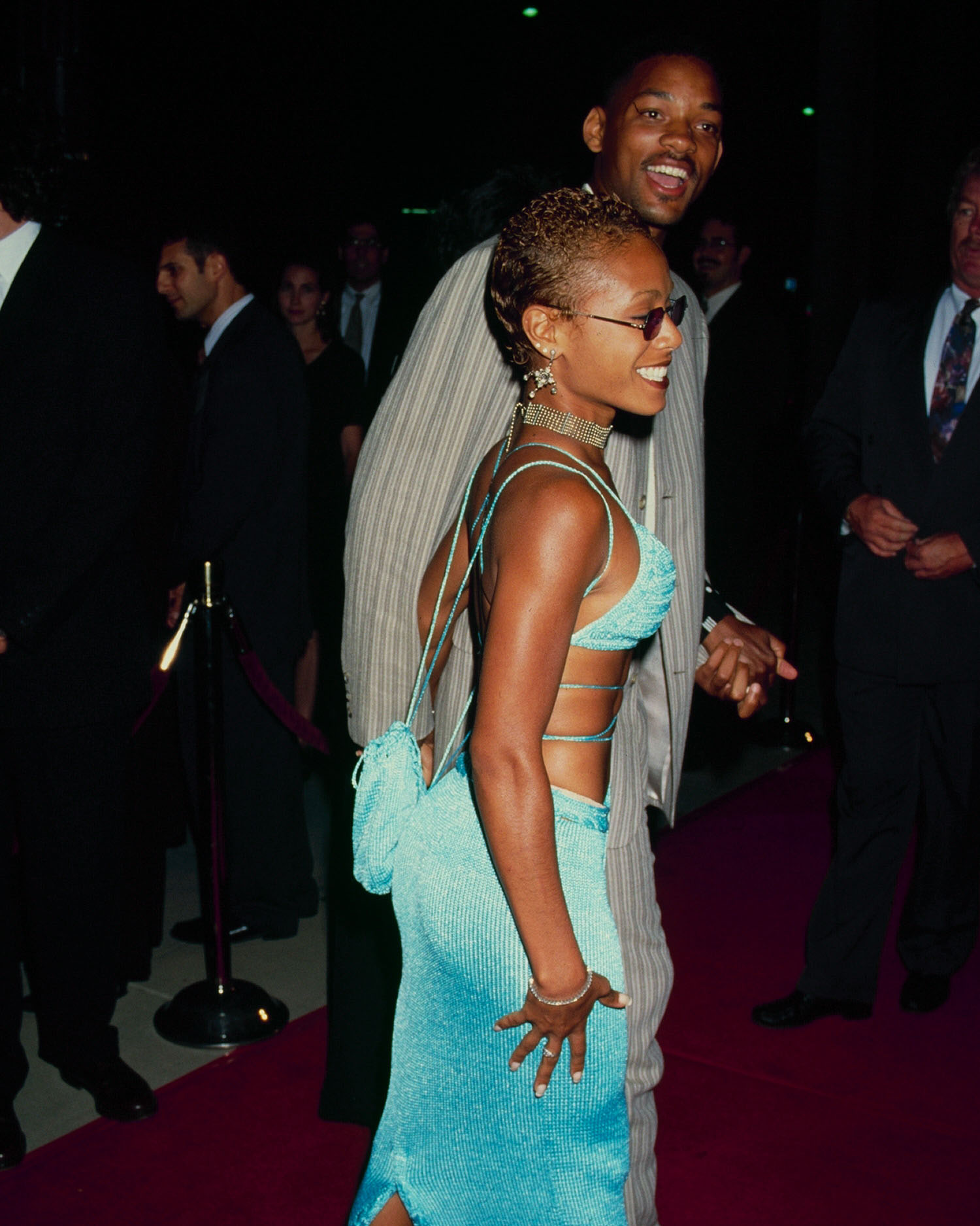 Will Smith and Jada Pinkett Smith | Stars' Stunning ... |Will Smith Jada Pinkett Wedding Dress