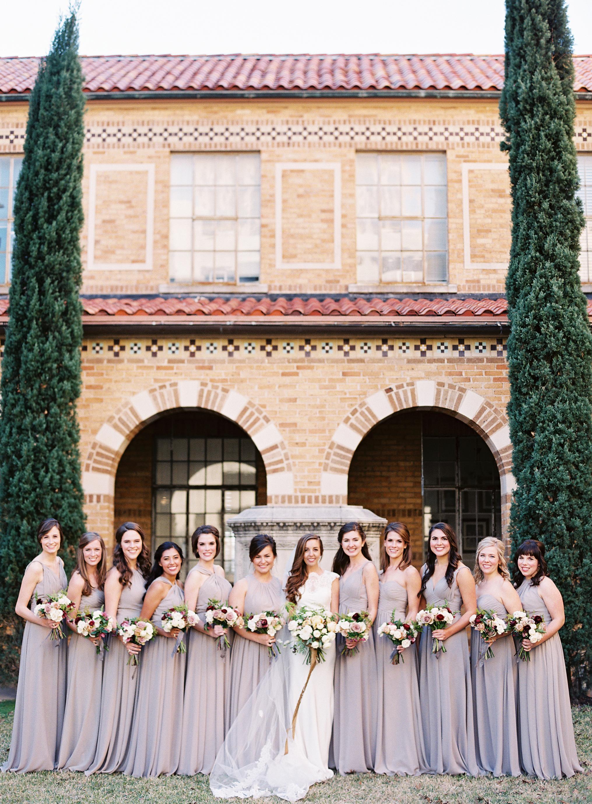 afton travers wedding bridesmaids