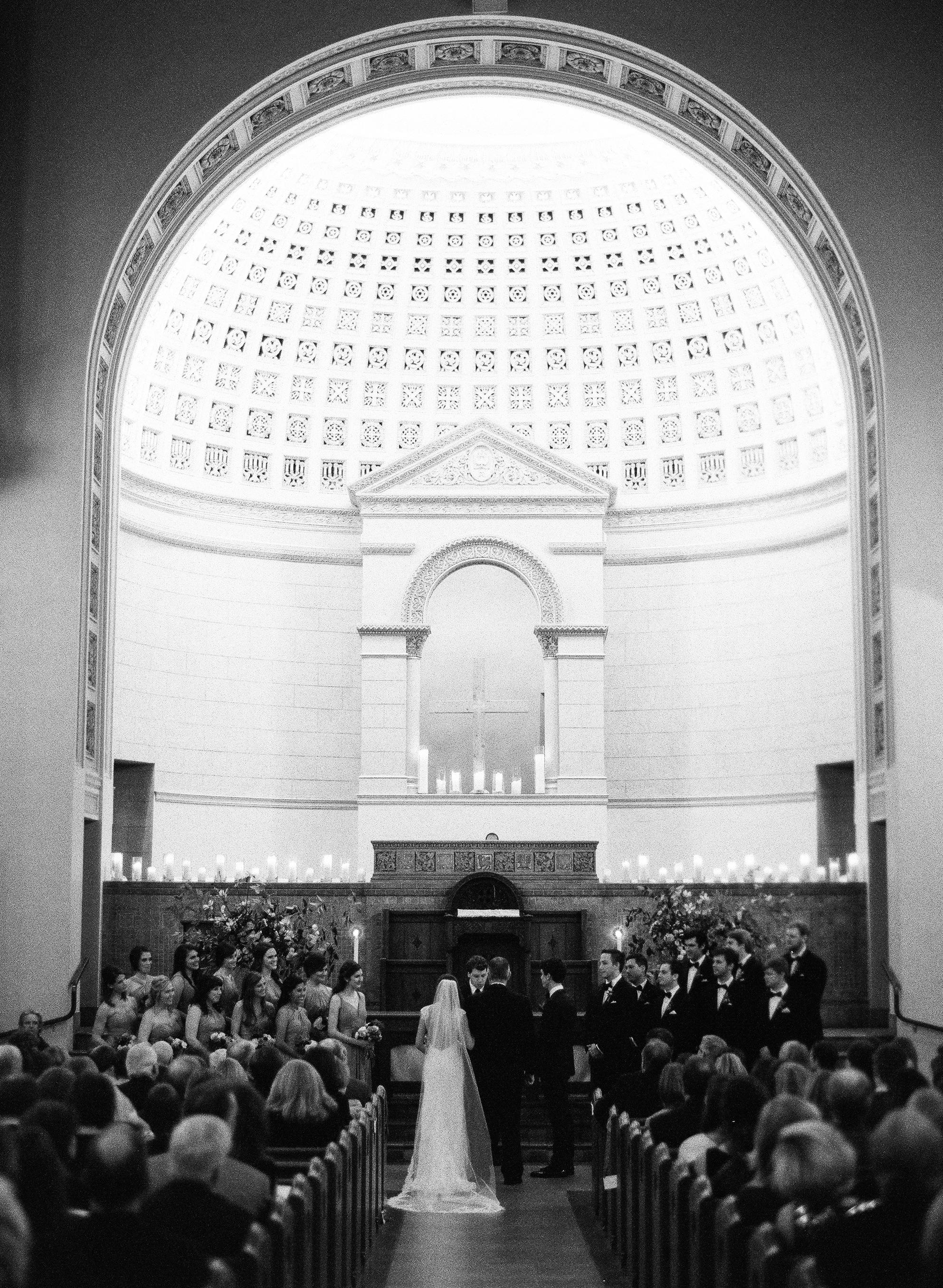 afton travers wedding ceremony