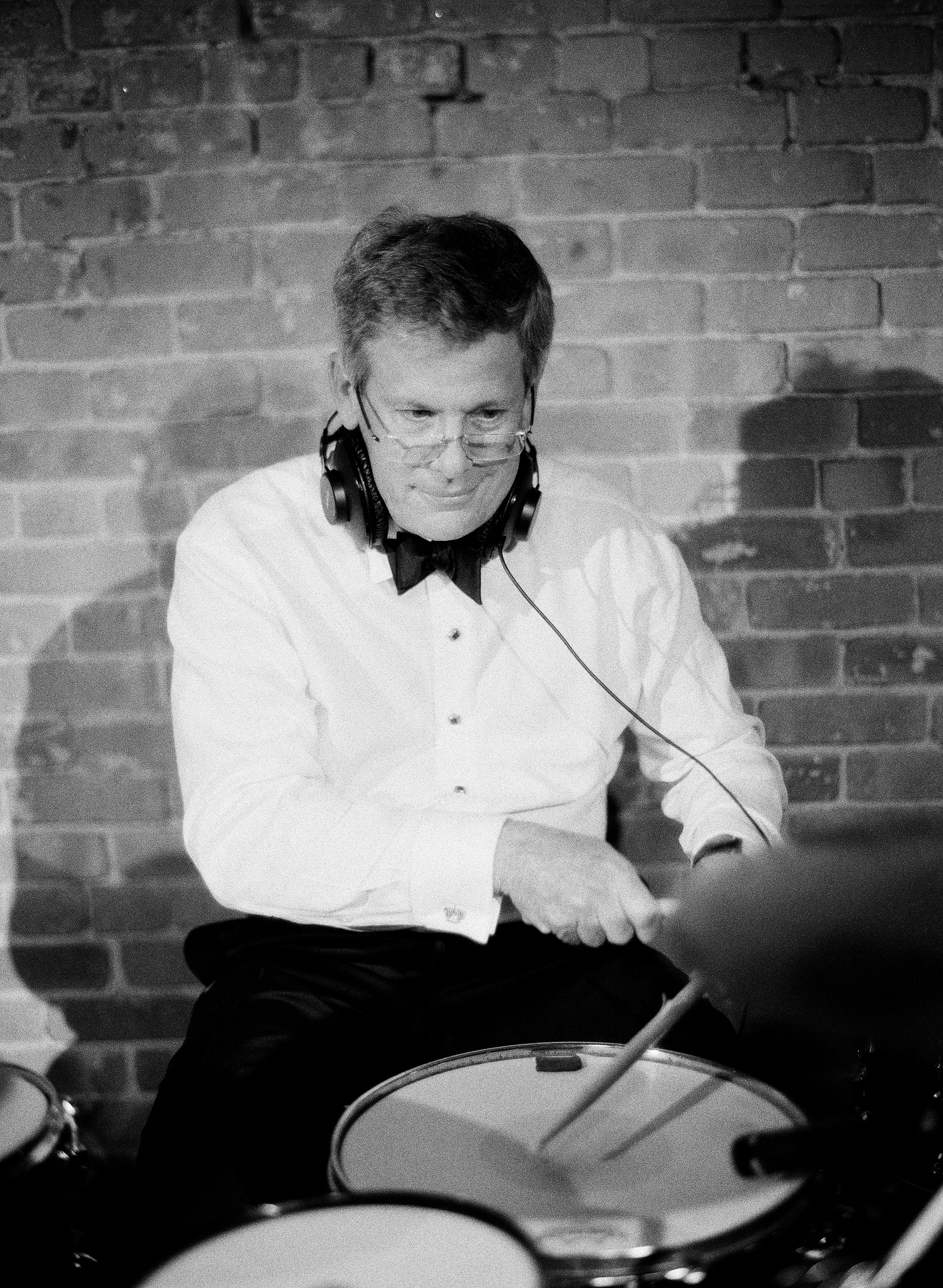 afton travers wedding drum