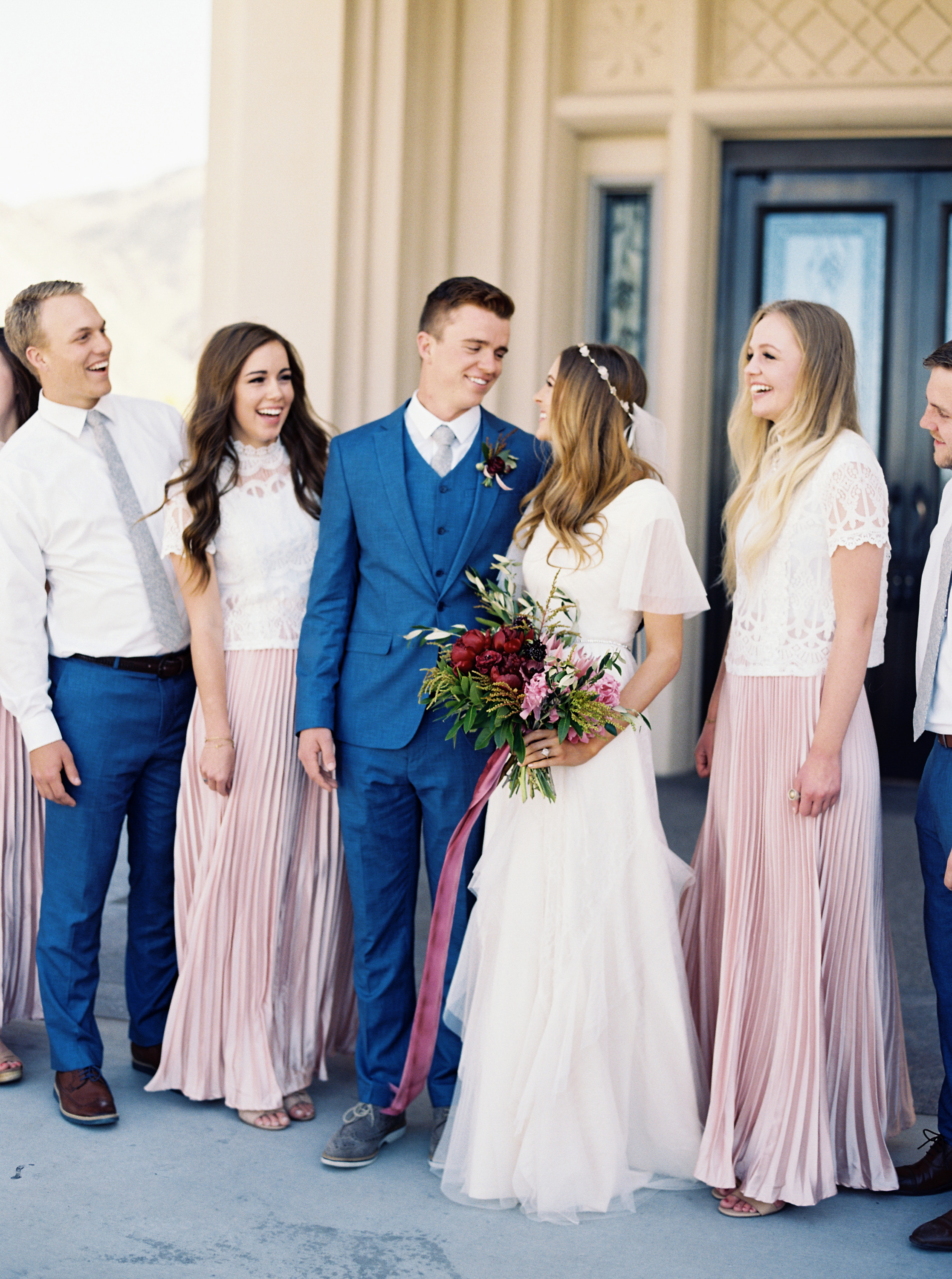 ciera preston wedding bridalparty