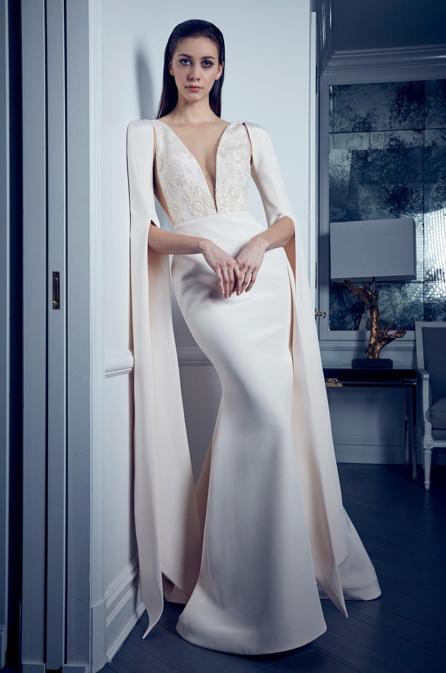Mermaid Wedding Dresses That Bring The Drama Martha Stewart Weddings