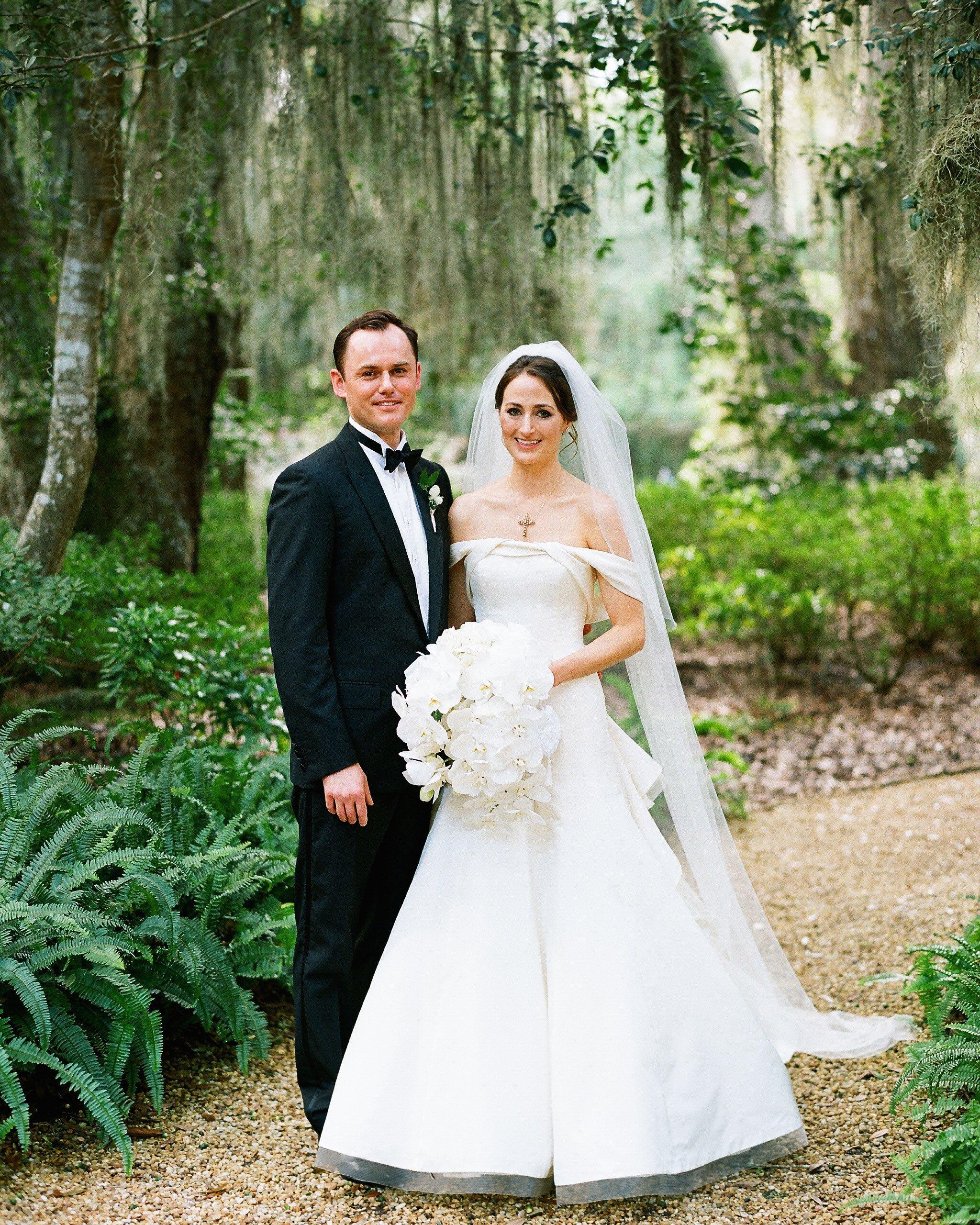A Classic Nature Inspired Wedding In Sea Island Martha