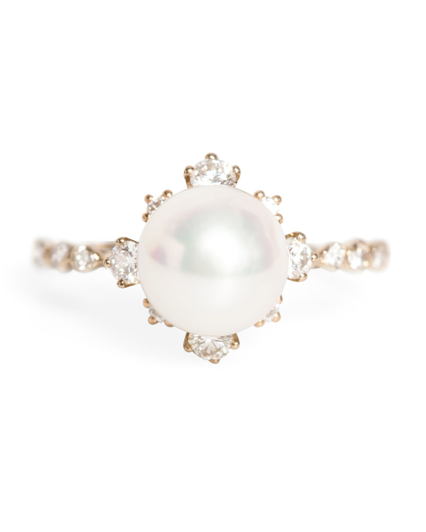 "Kataoka ""Winter"" Pearl Ring"