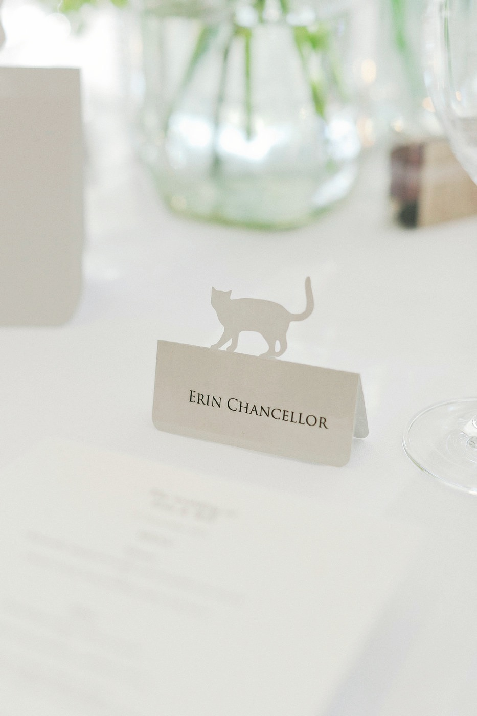 Cat Place Card