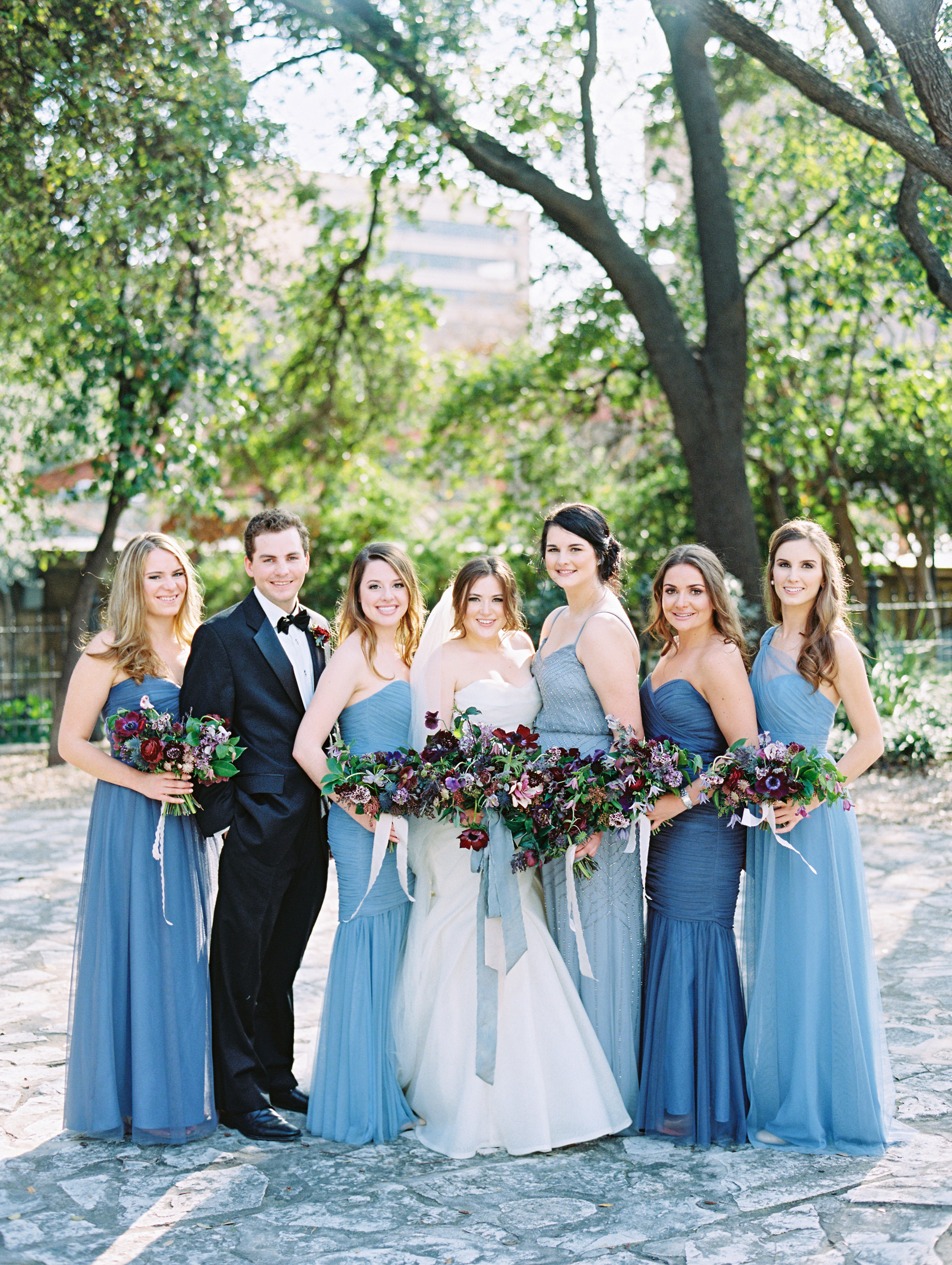 samantha michael wedding bridalparty
