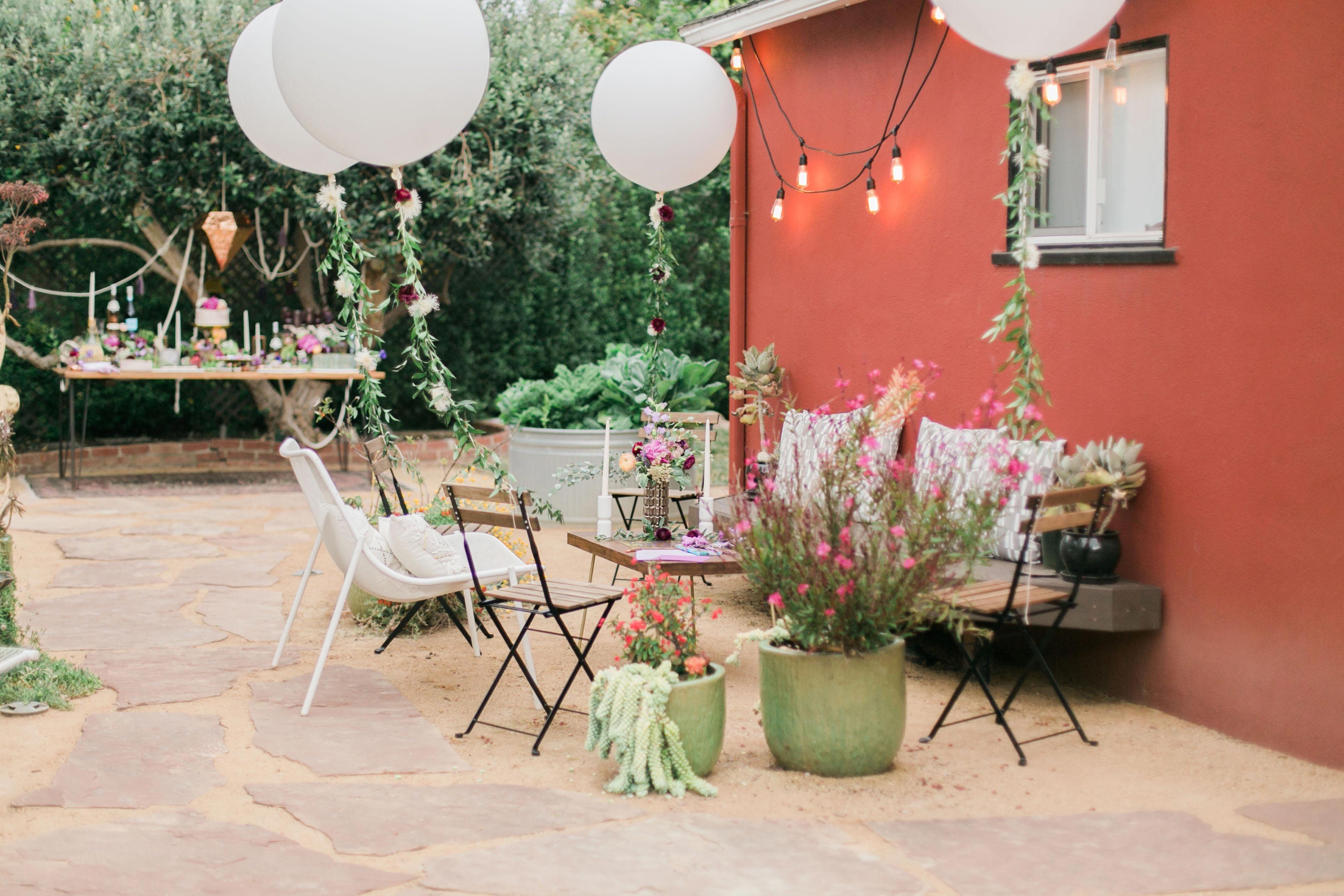 Creative Bachelorette Party Decoration Ideas   Martha Stewart Weddings