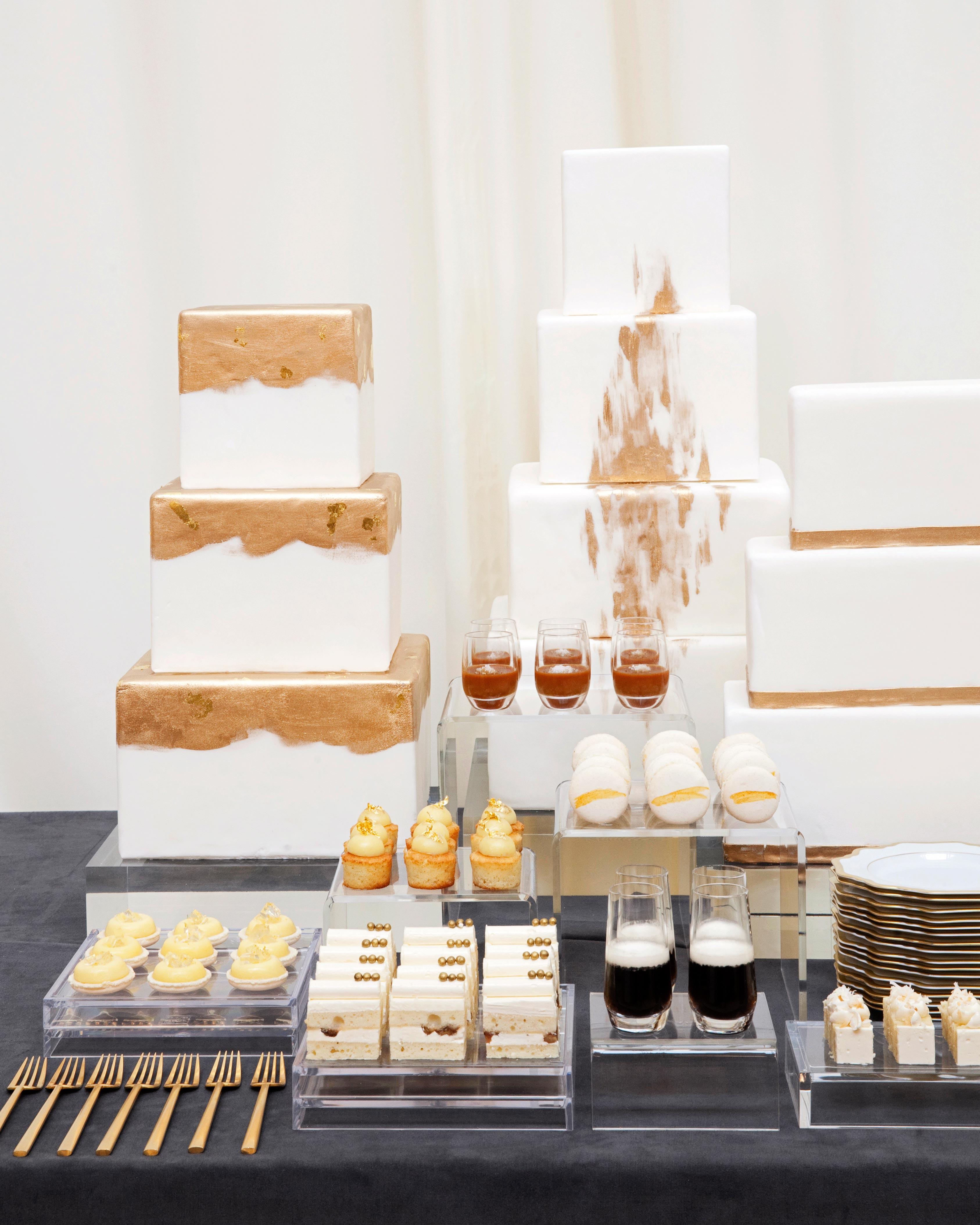 jess todd wedding seattle cake desserts