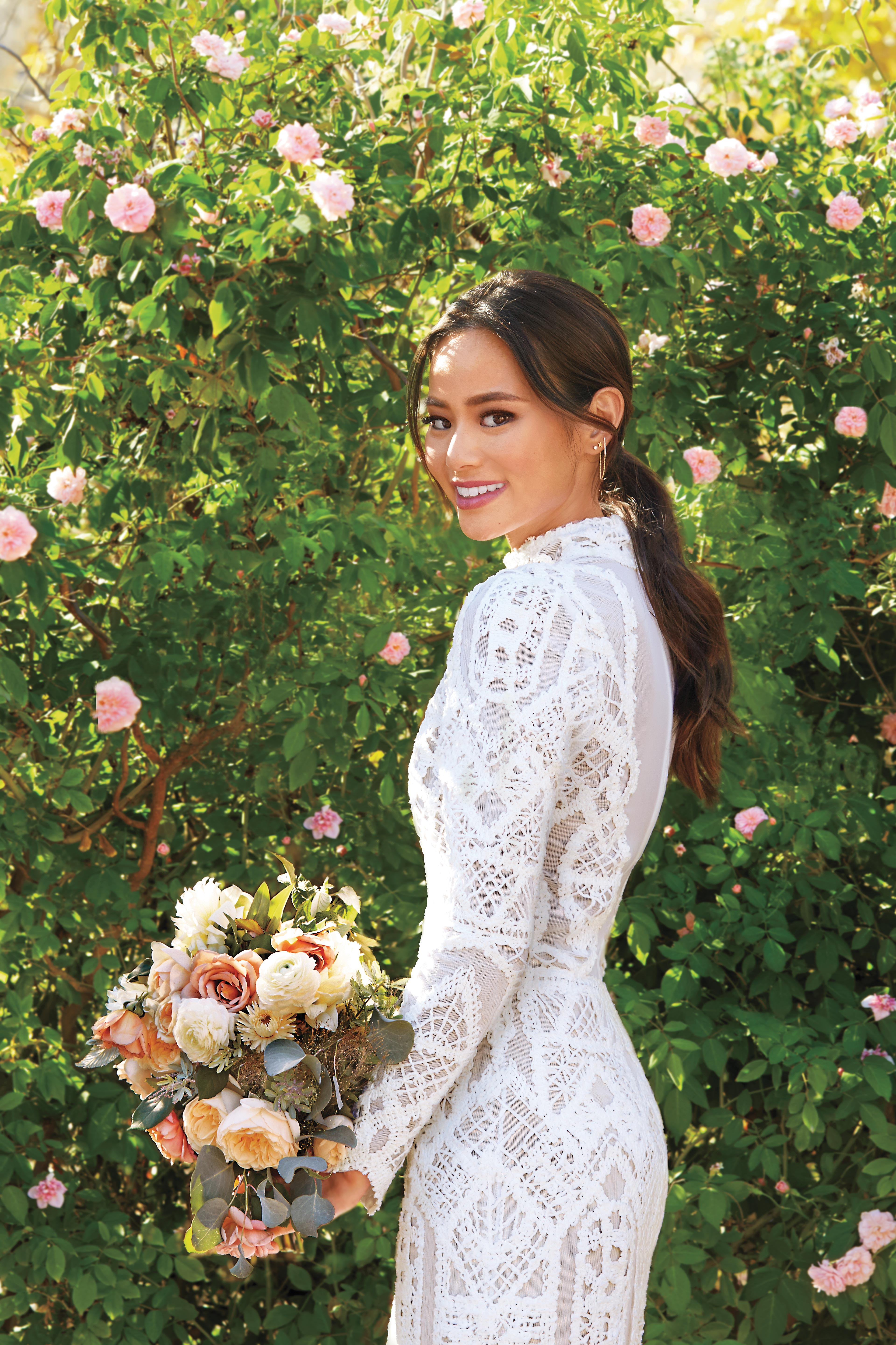 Jamie Chung Wedding Hairstyle