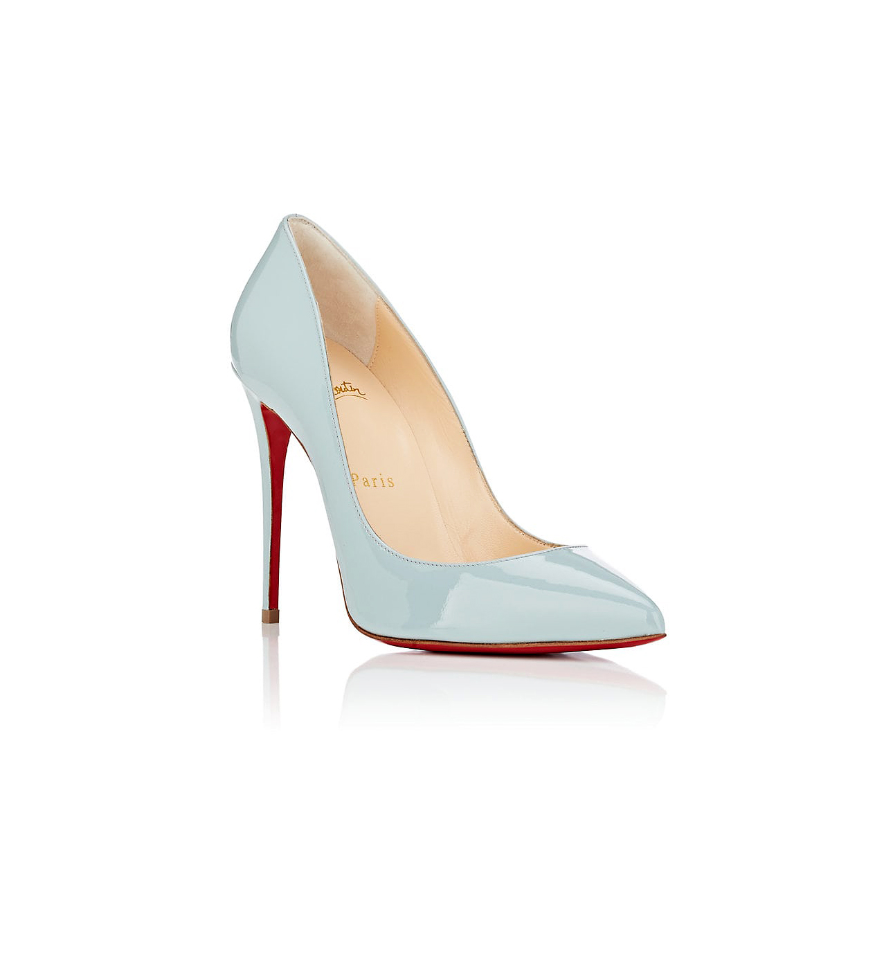 """Christian Louboutin """"Pigalle Follies"""" Patent Leather Pumps"""