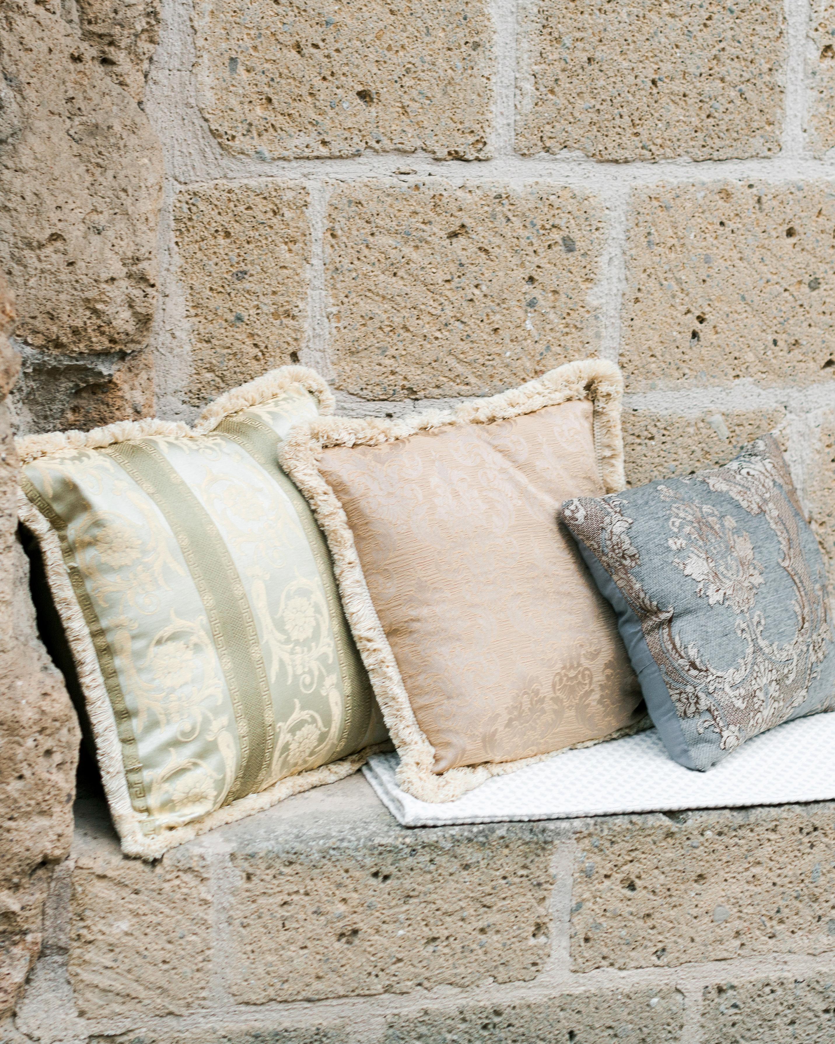 amanda patrick wedding pillows