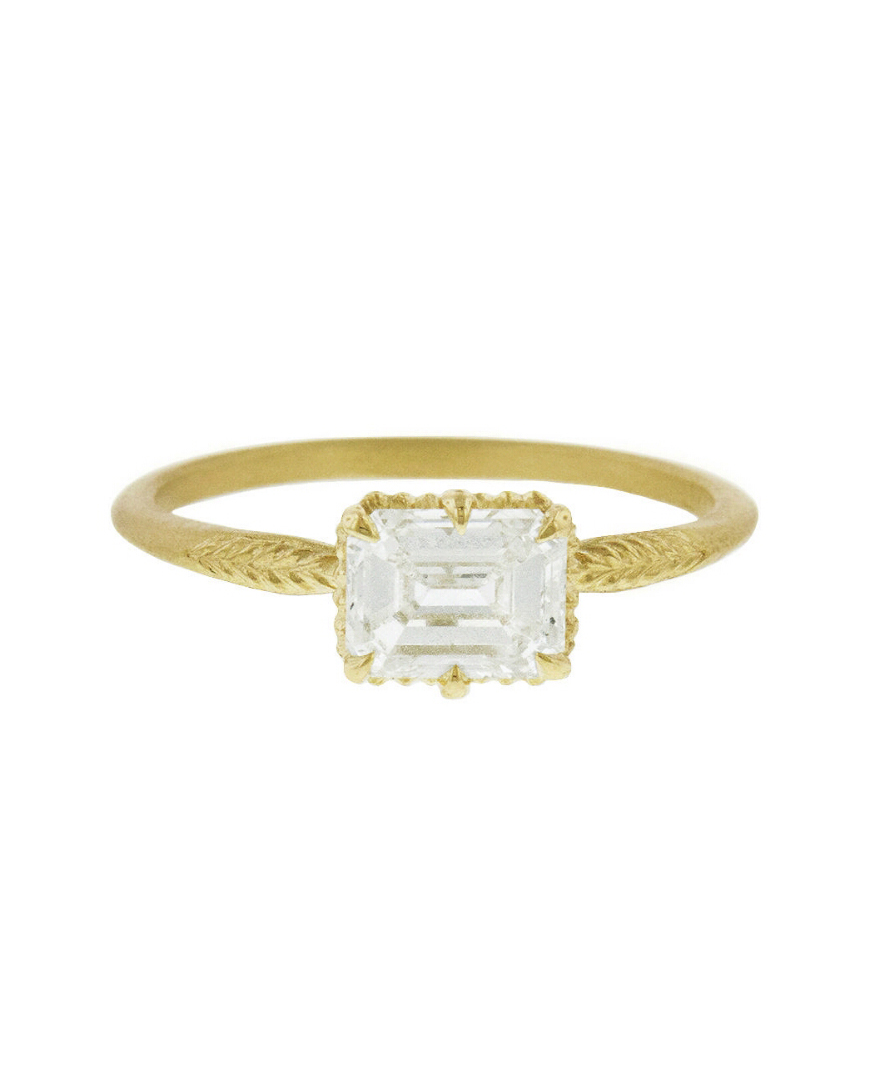 Diamond Evergreen Ring