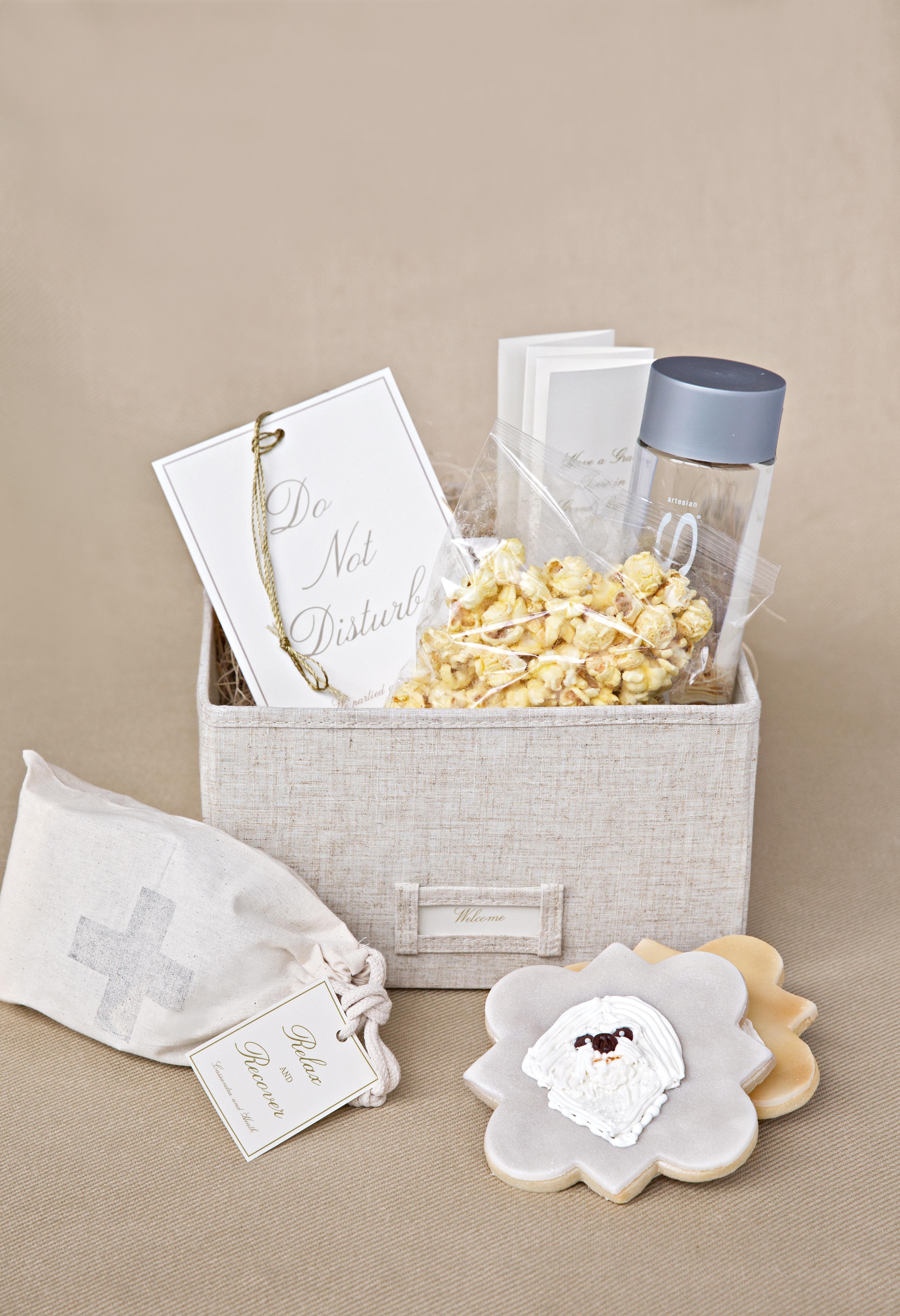 wedding welcome basket