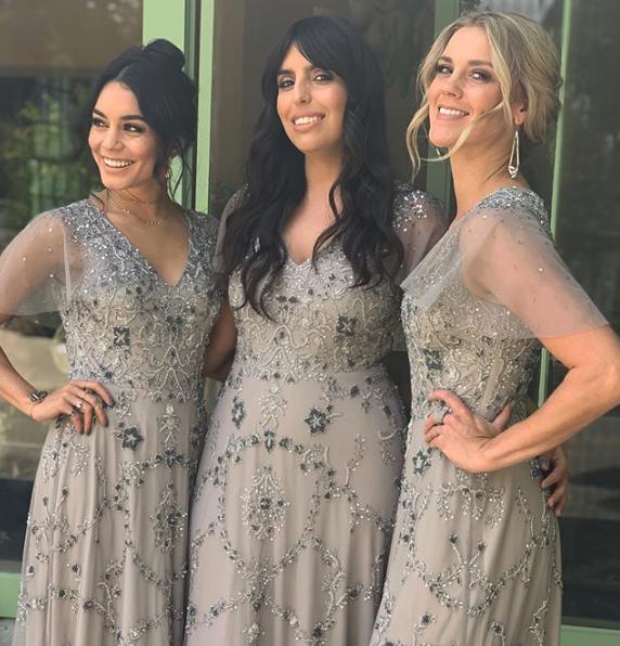 Vanessa Hudgens Bridesmaid