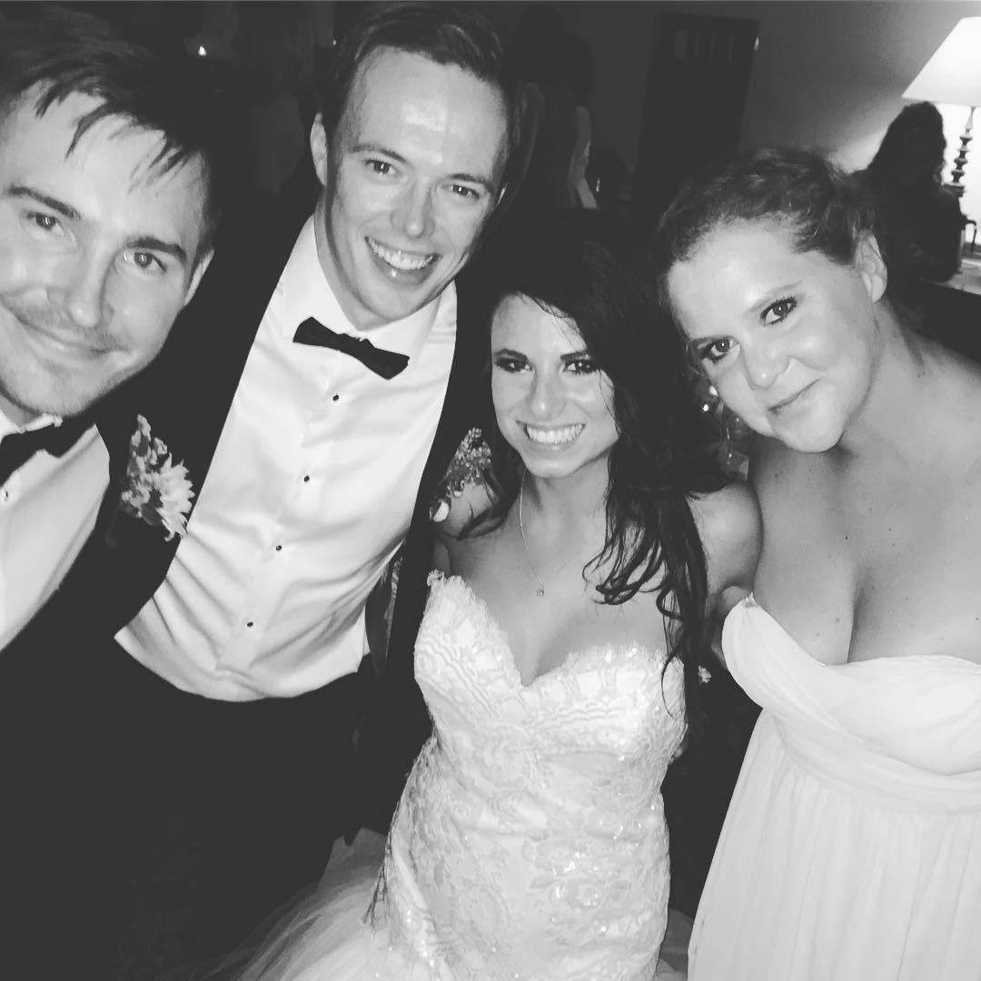 Amy Schumer as a Bridesmaid