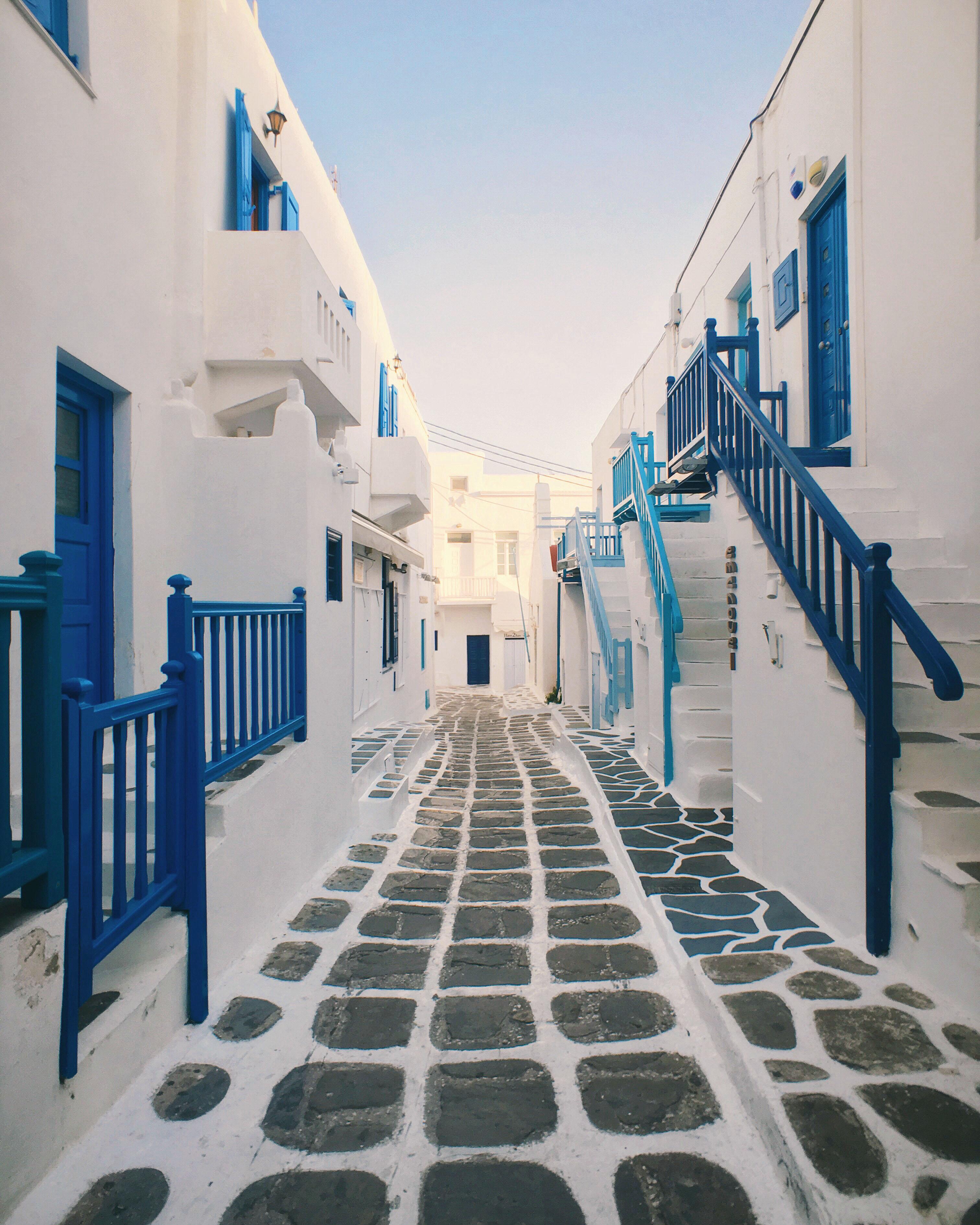mykonos greece travel photo
