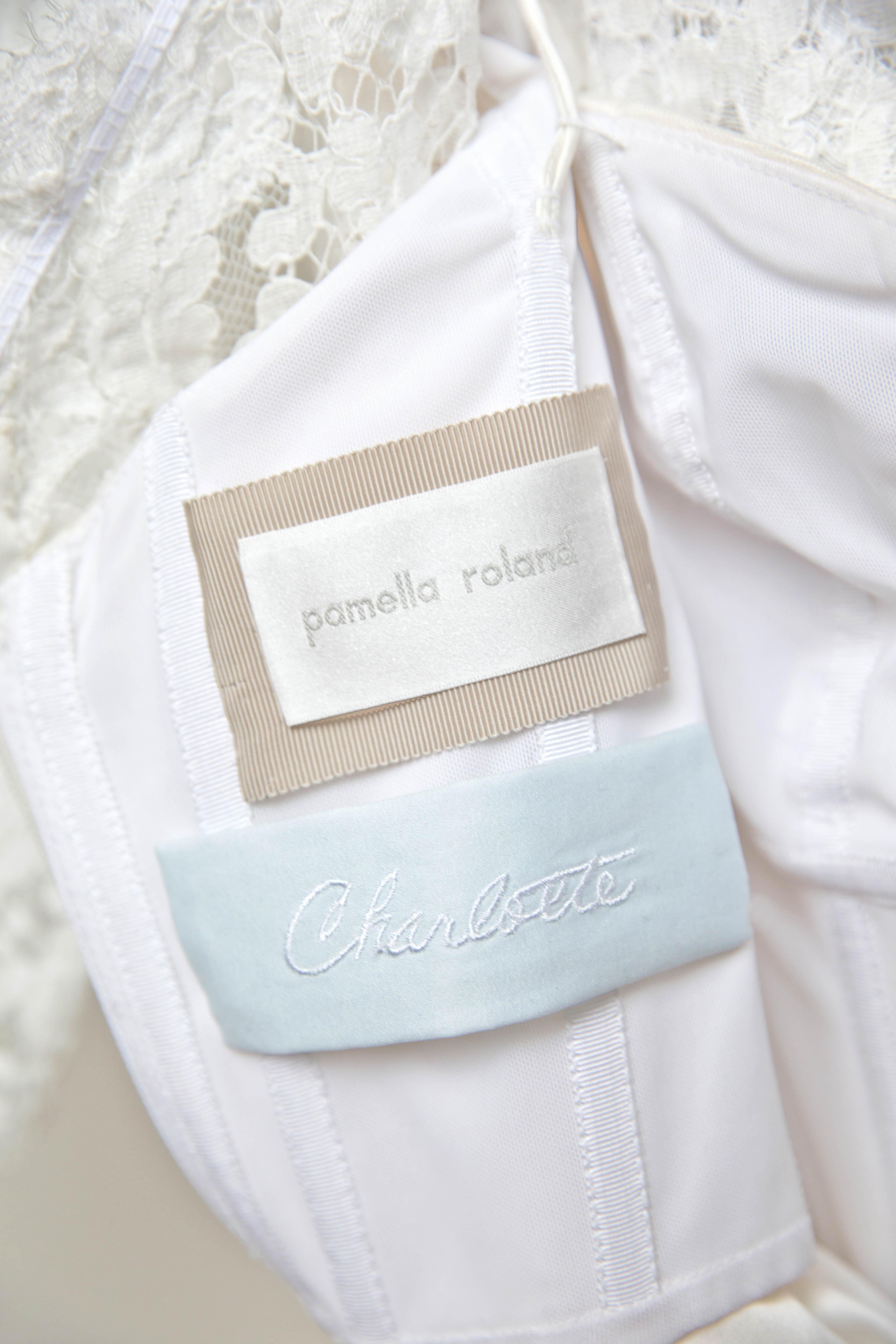cass heath wedding dress label