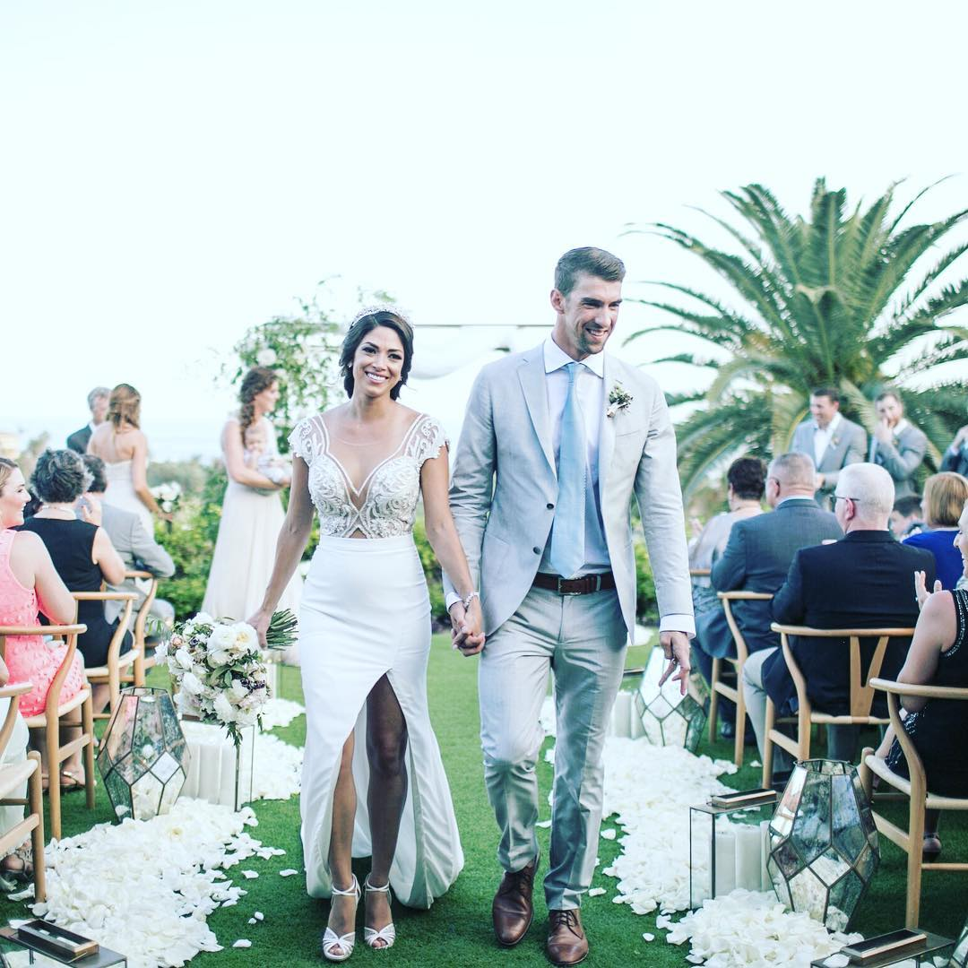 Michael Phelps and Nicole Johnson Wedding