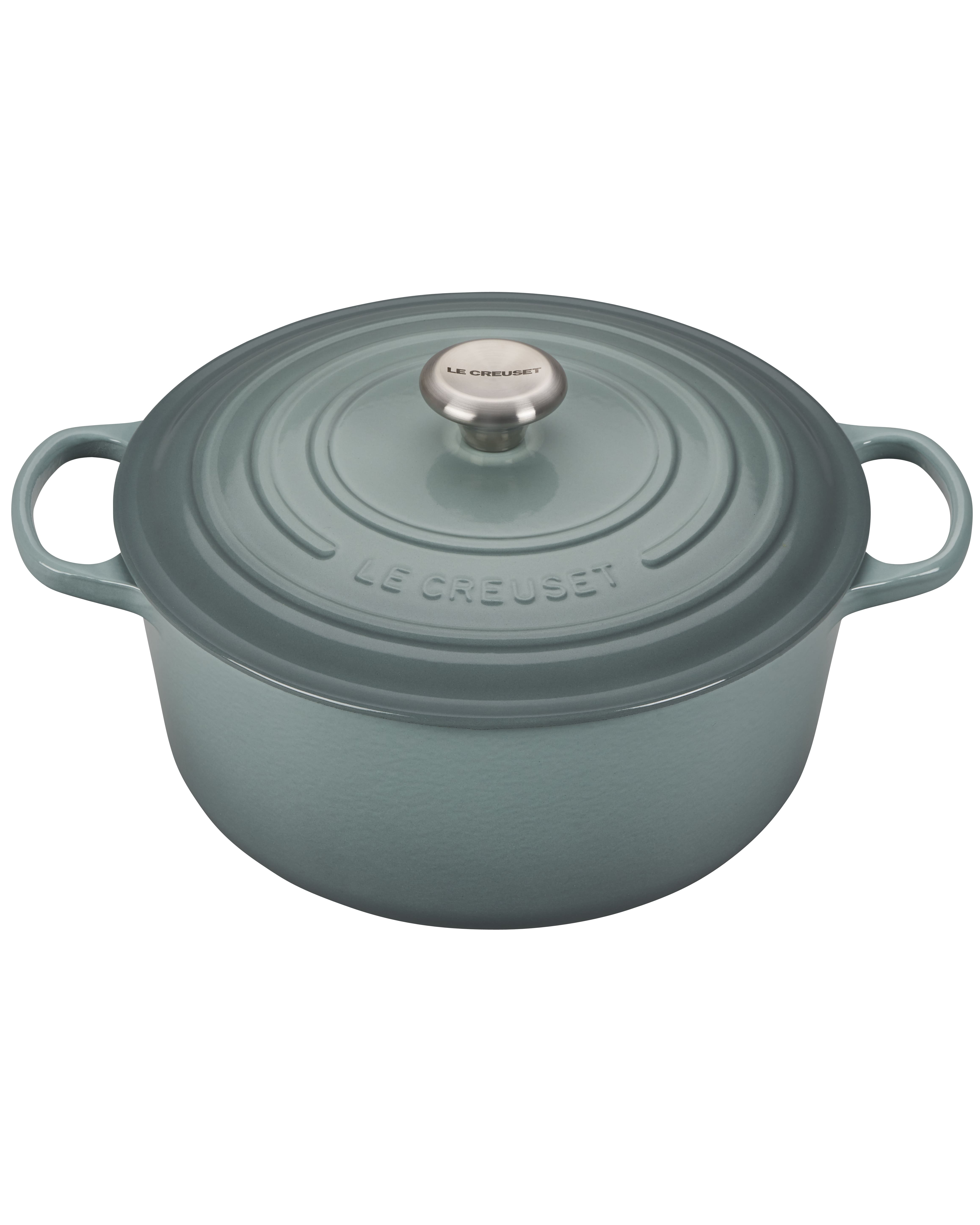 sea salt blue dutch oven
